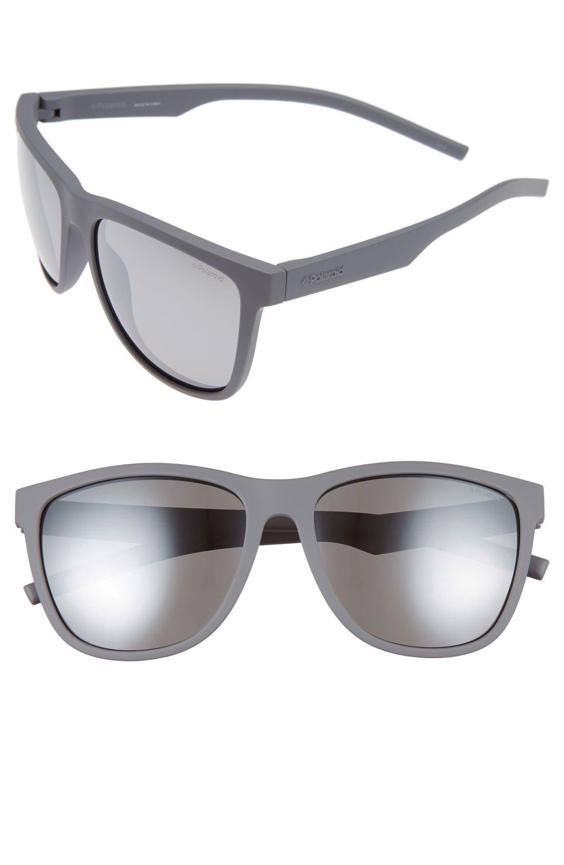 Alternate Image 1 Selected - Polaroid 6014/S 56mm Polarized Sunglasses