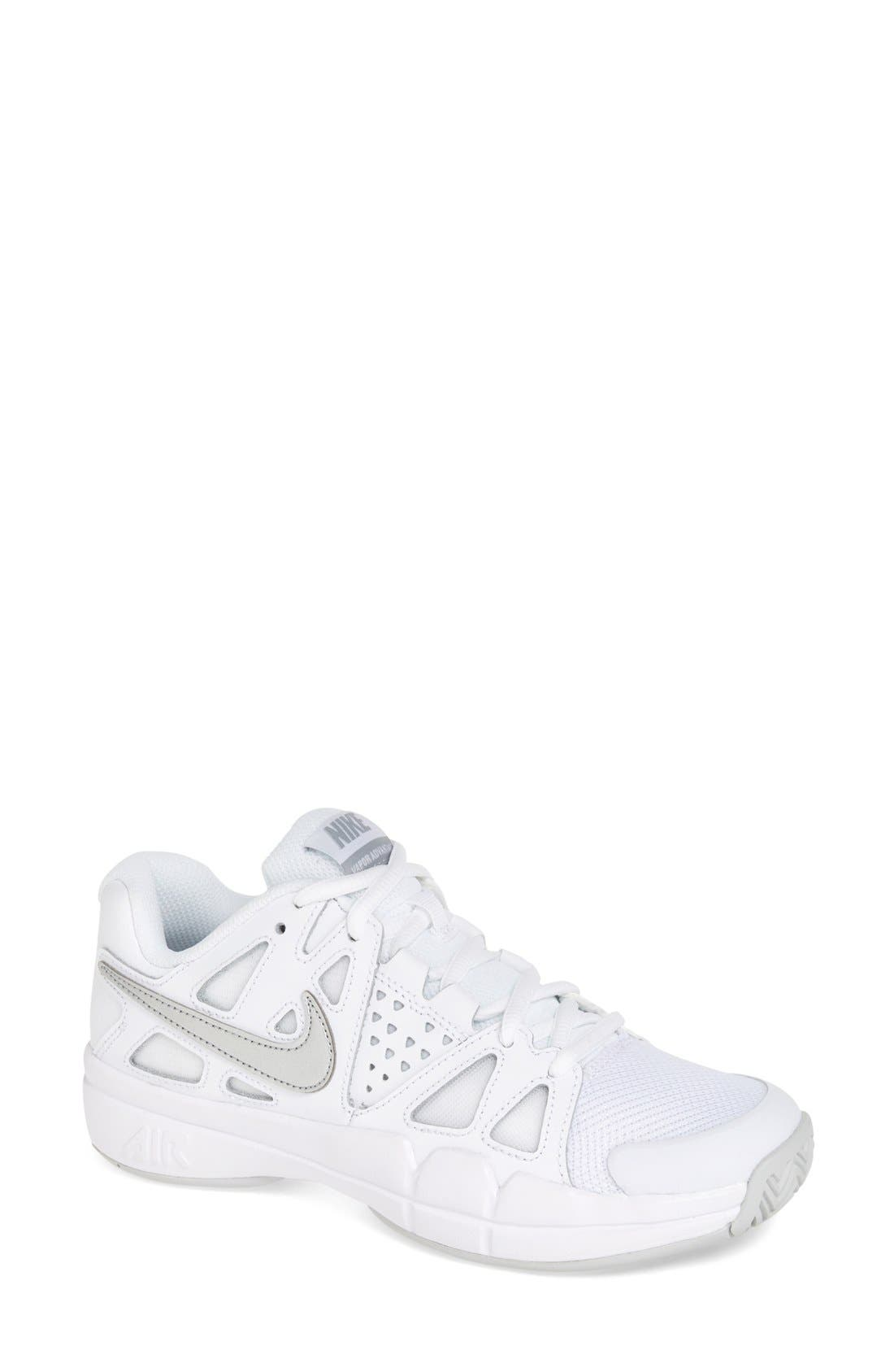 Alternate Image 1 Selected - Nike 'Air Vapor Advantage' Tennis Shoe (Women)
