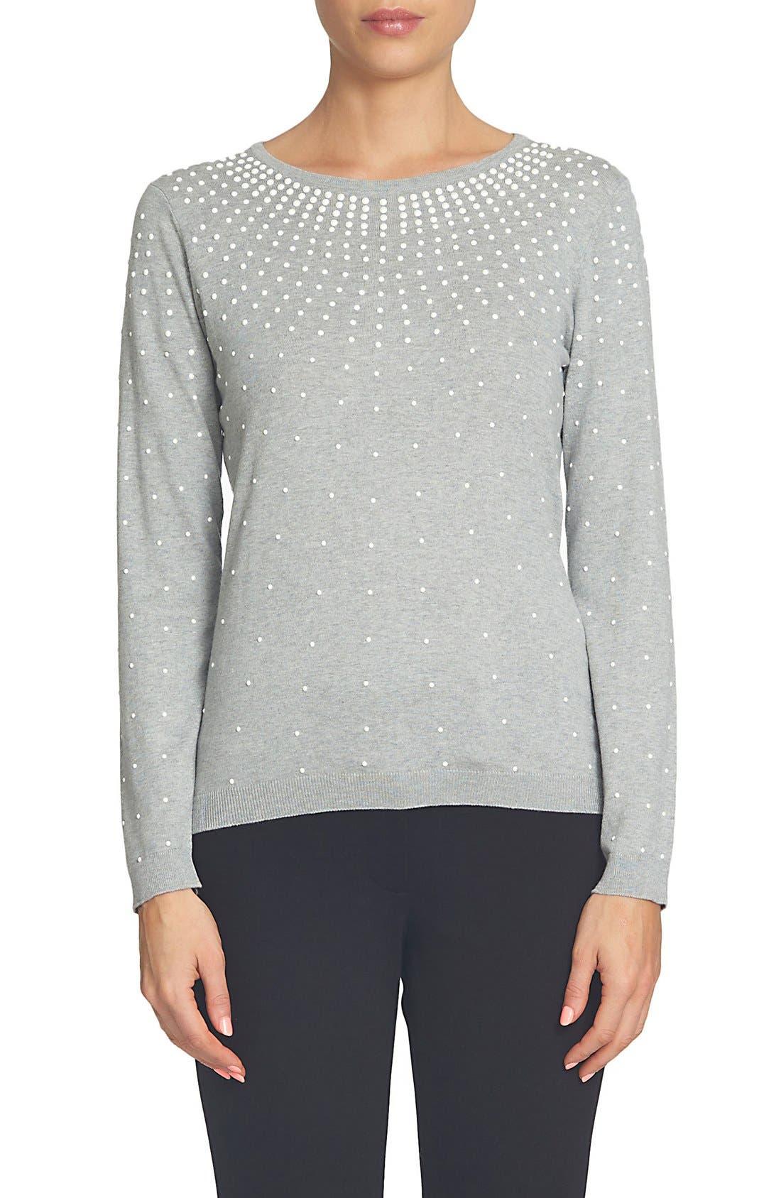 CeCe Embellished Pullover