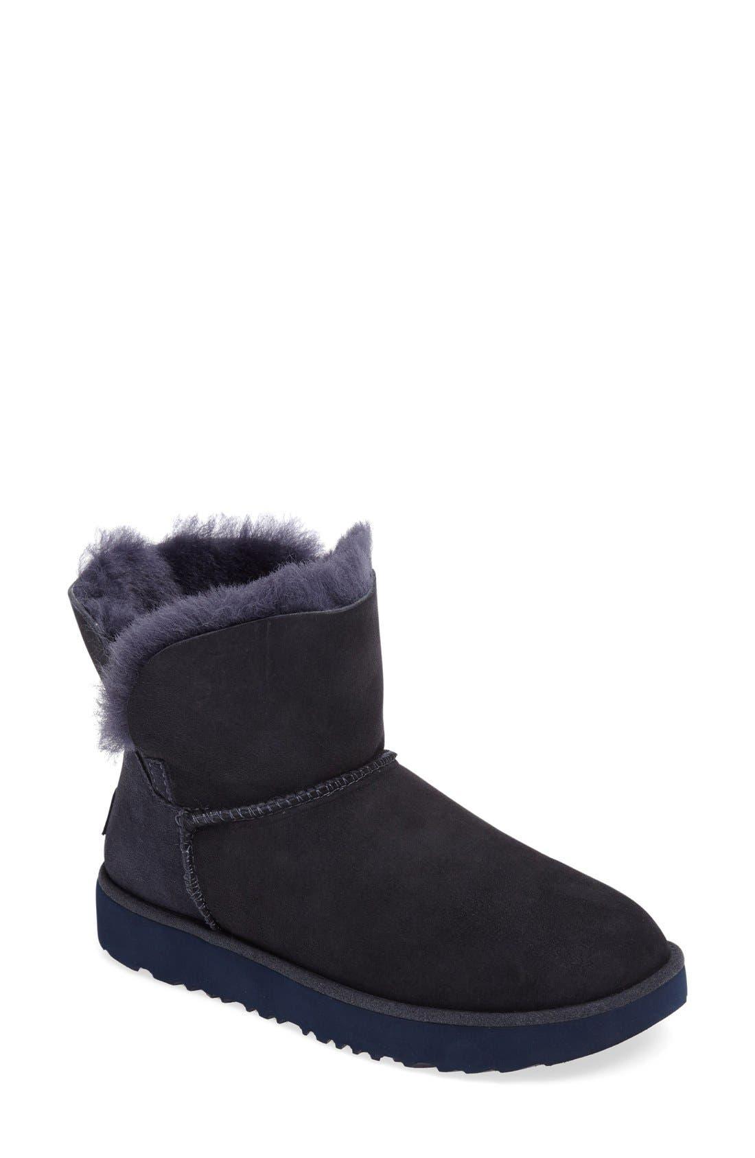 Alternate Image 1 Selected - UGG® Classic Cuff Mini Boot (Women)