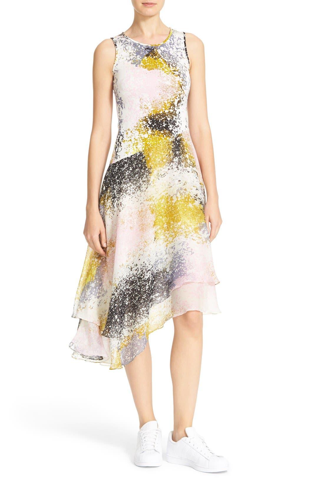Alternate Image 1 Selected - Diane von Furstenberg Klaara Silk Dress