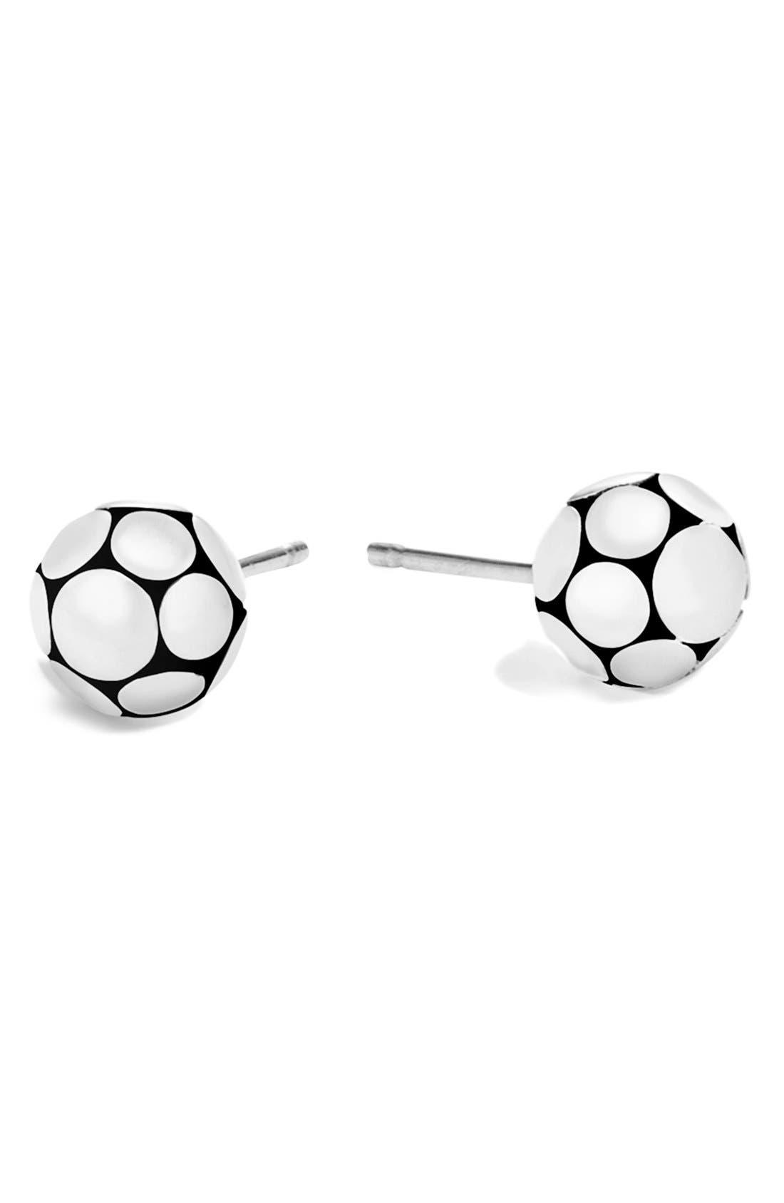 John Hardy Dot Small Stud Earrings