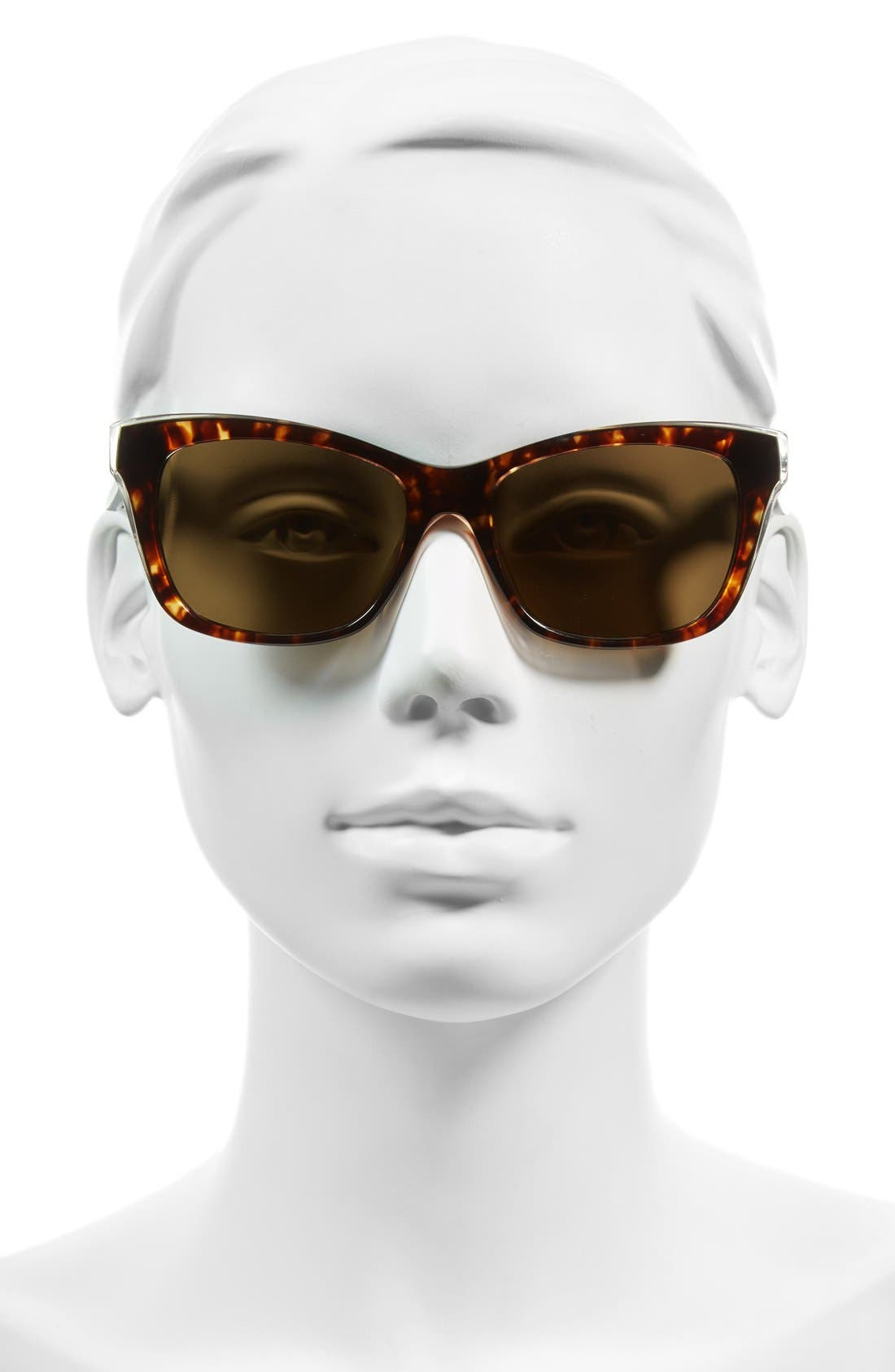 jenae 53mm polarized sunglasses,                             Alternate thumbnail 2, color,                             Havana/ Cream/ Transparent