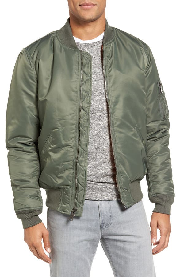 Schott NYC MA-1 Flight Jacket | Nordstrom