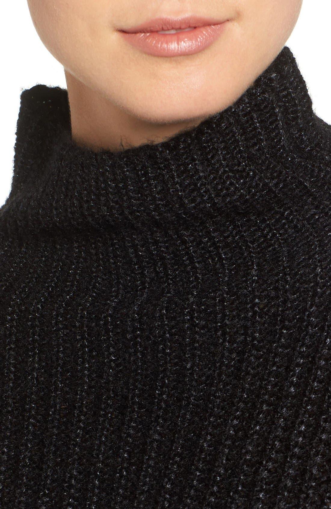 Alternate Image 5  - Trouvé Rib Knit Sweater