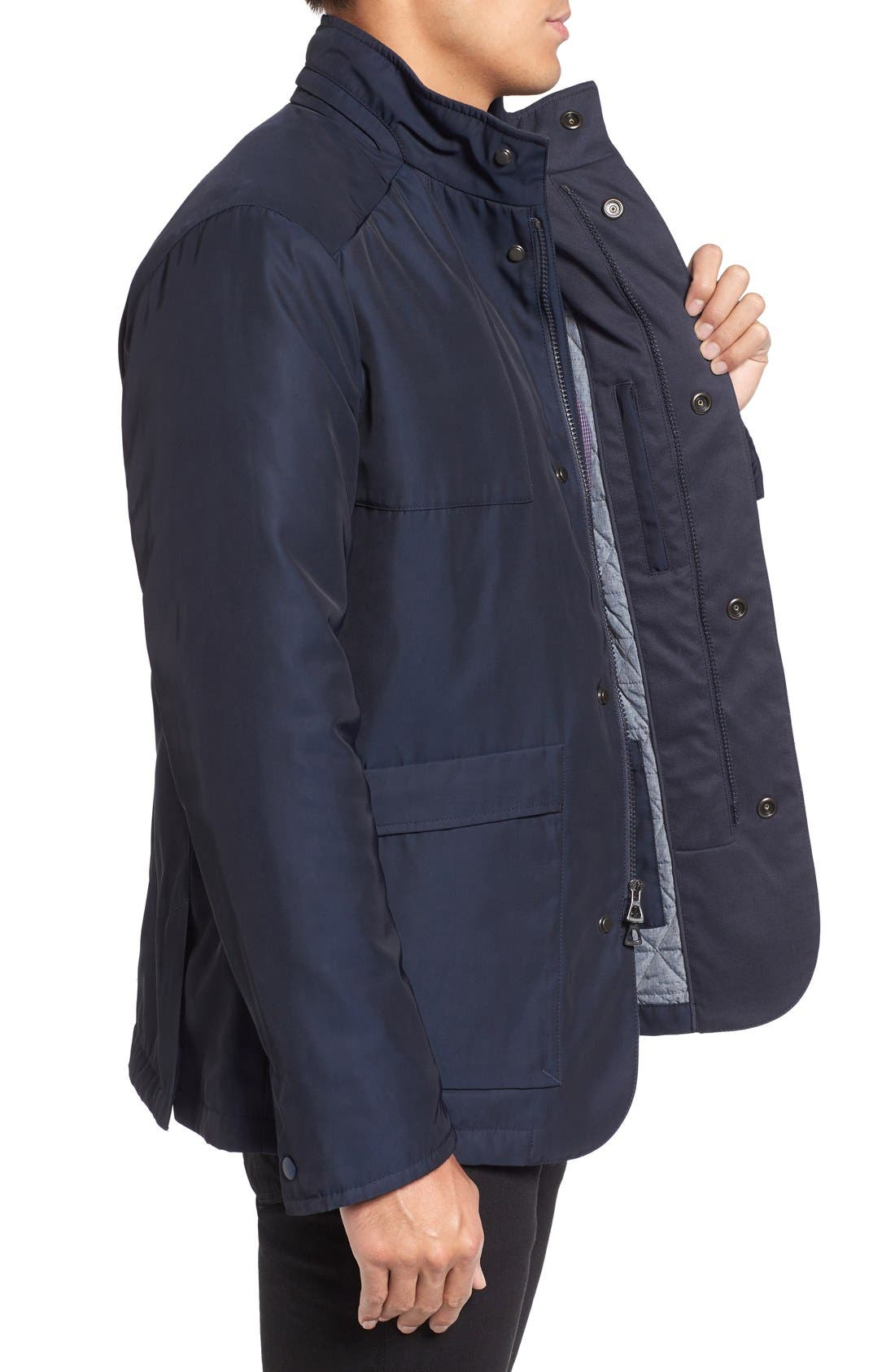 Lightweight Jacket,                             Alternate thumbnail 3, color,                             Navy