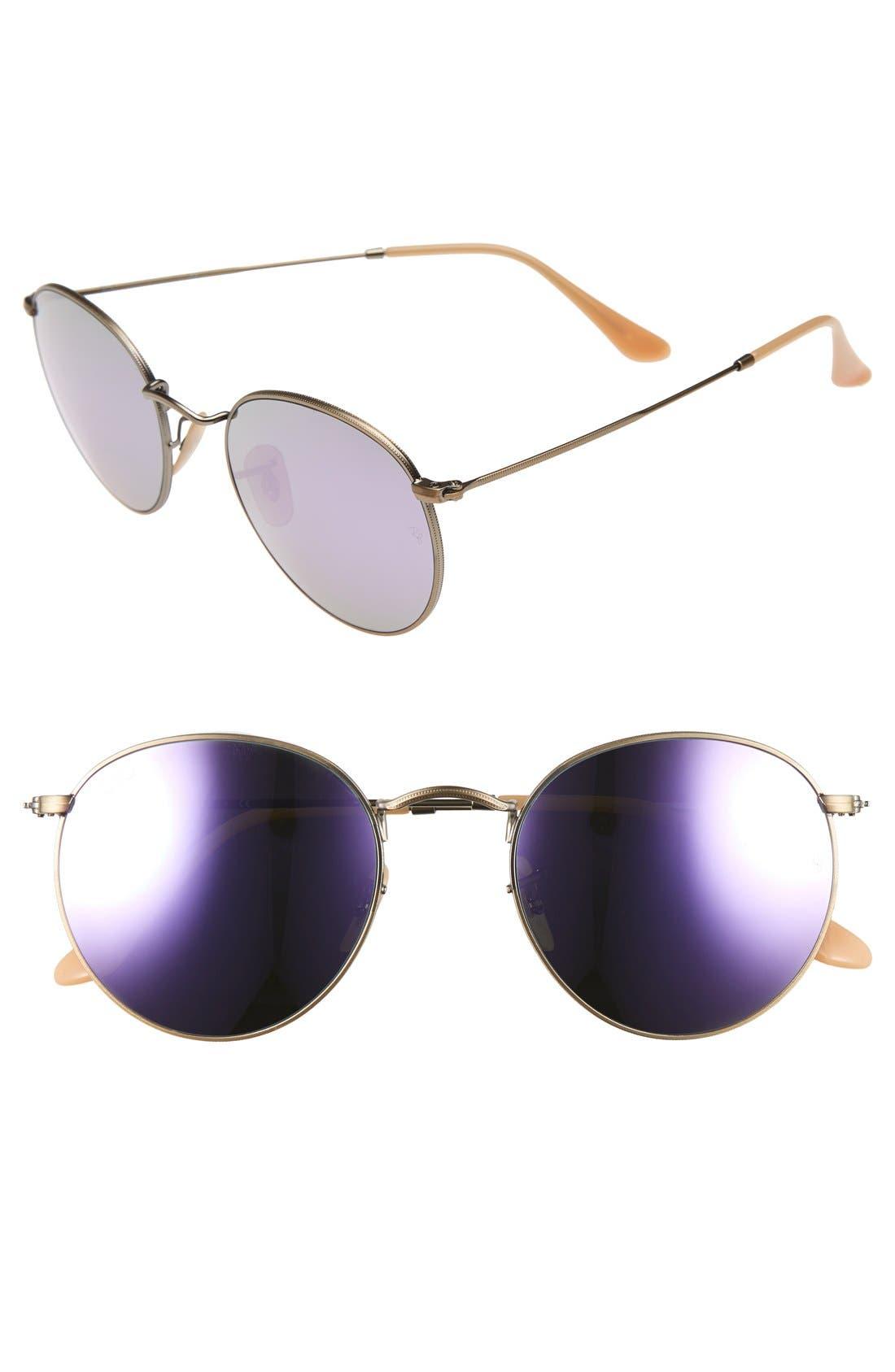 Main Image - Ray-Ban Icons 53mm Retro Sunglasses