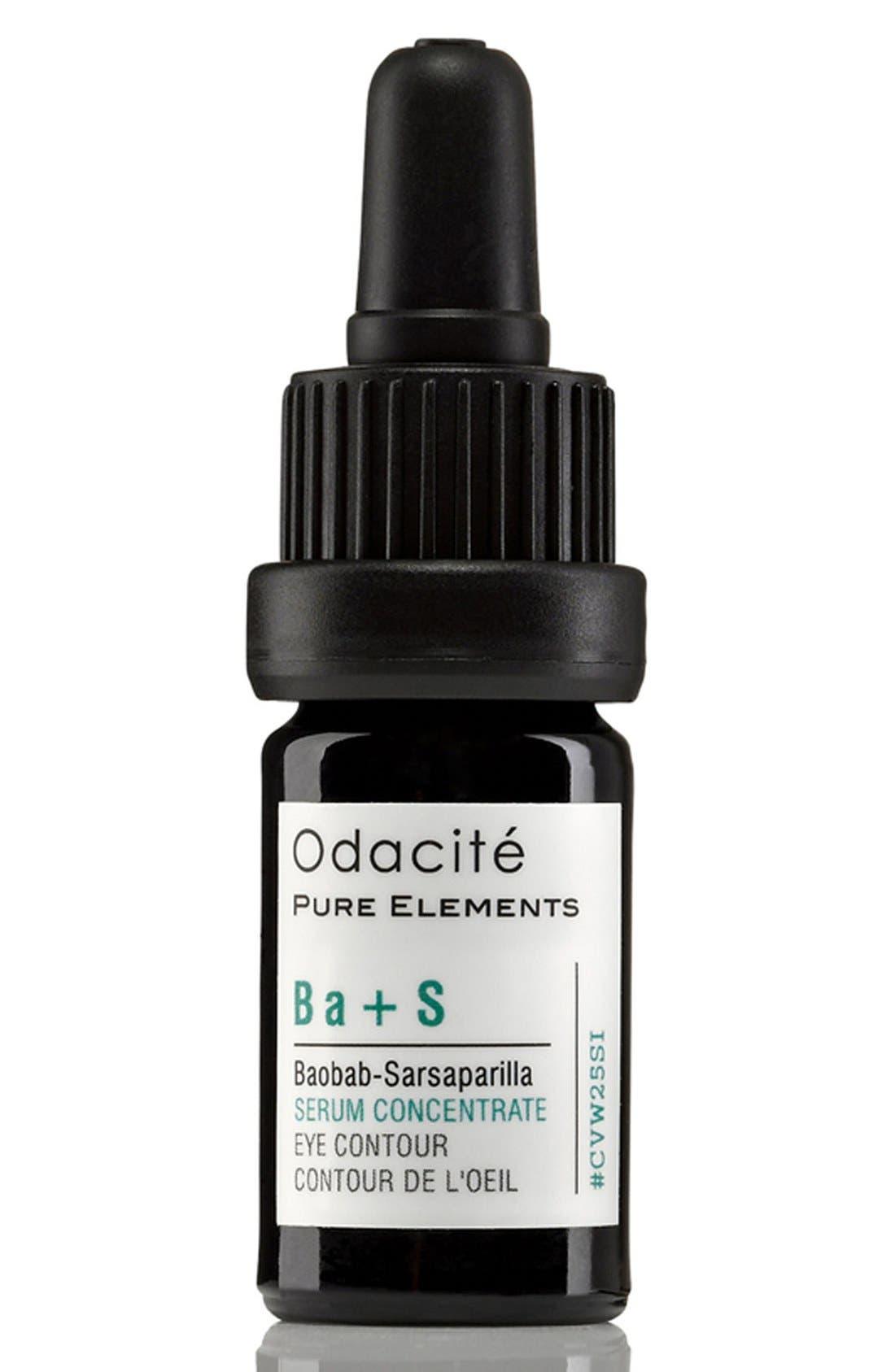 Odacité Ba + S Baobab-Sarsaparilla Eye Contour Serum Concentrate