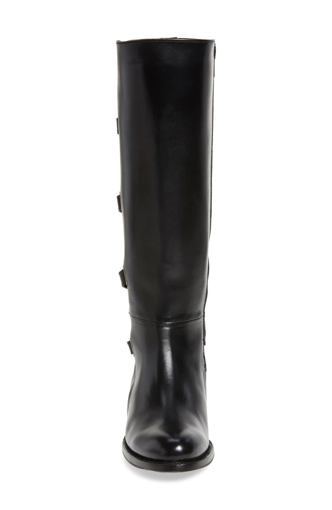 Alternate Image 3  - Frye Jordan Strappy Knee High Boot (Women)