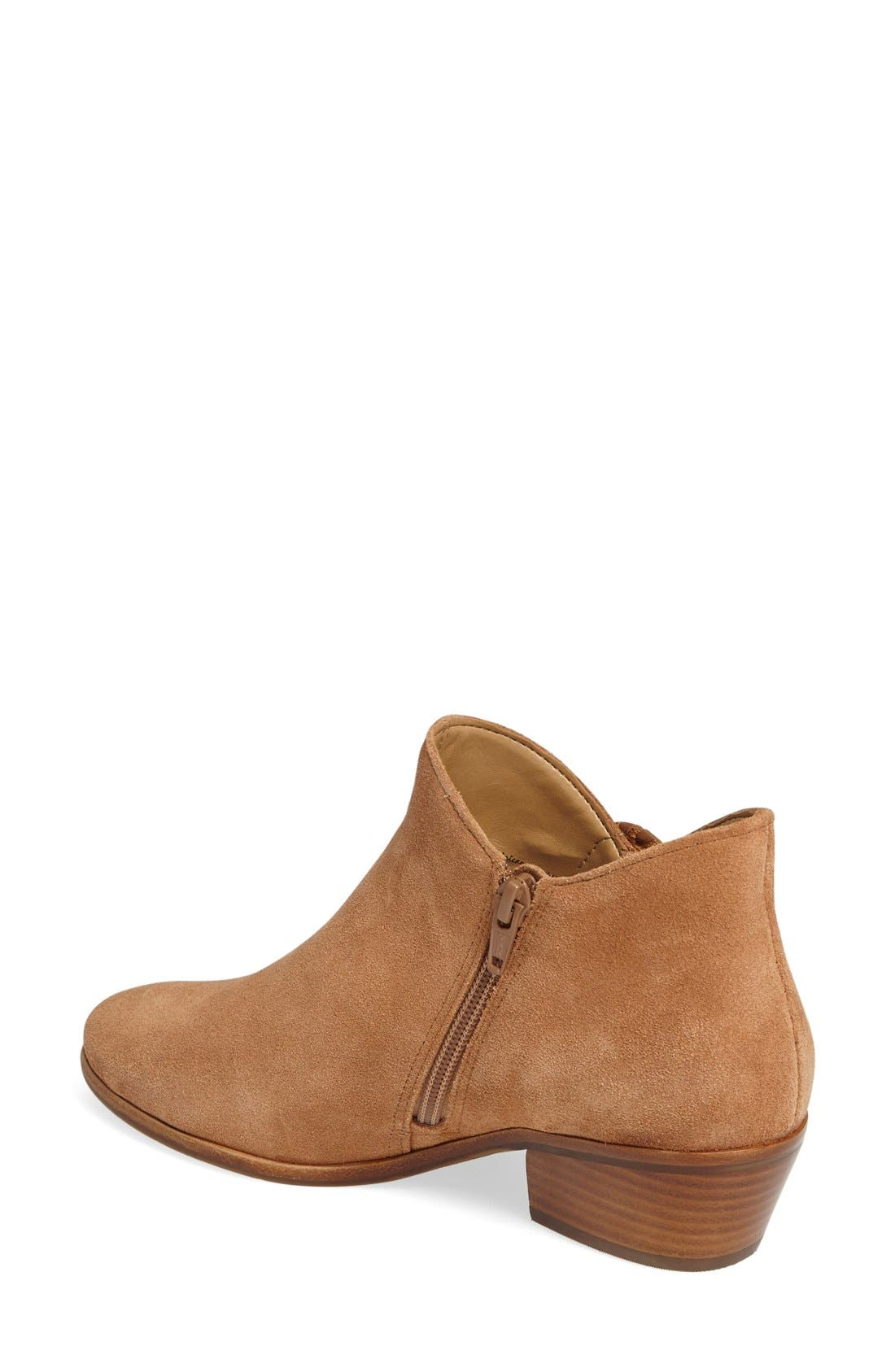 Peyton Bootie,                             Alternate thumbnail 2, color,                             Oak Suede