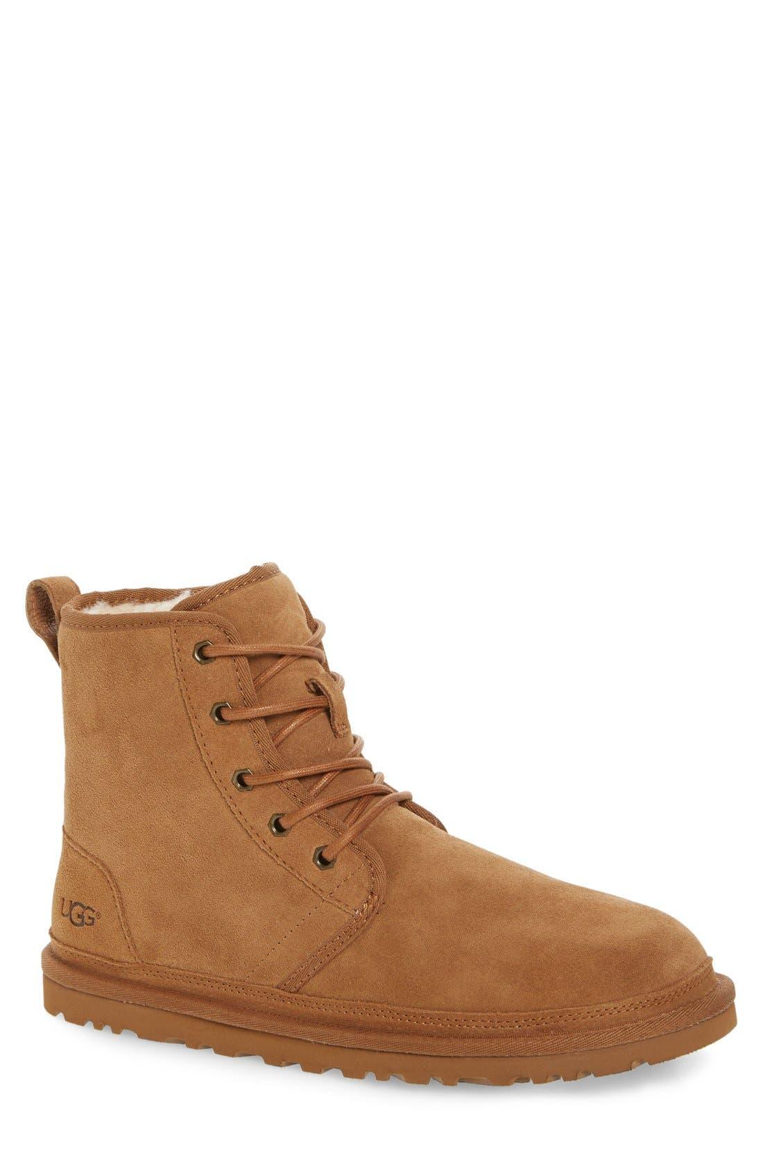 Alternate Image 1 Selected - UGG® Harkley Lace-Up Boot (Men)