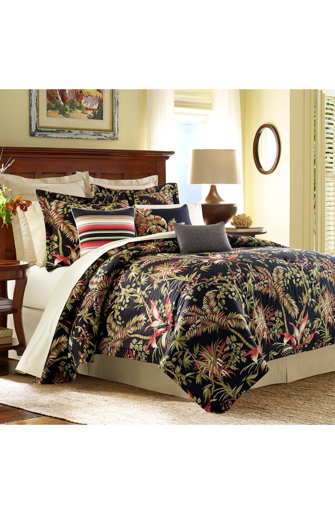 Main Image - Tommy Bahama Jungle Drive Comforter, Sham & Bed Skirt Set