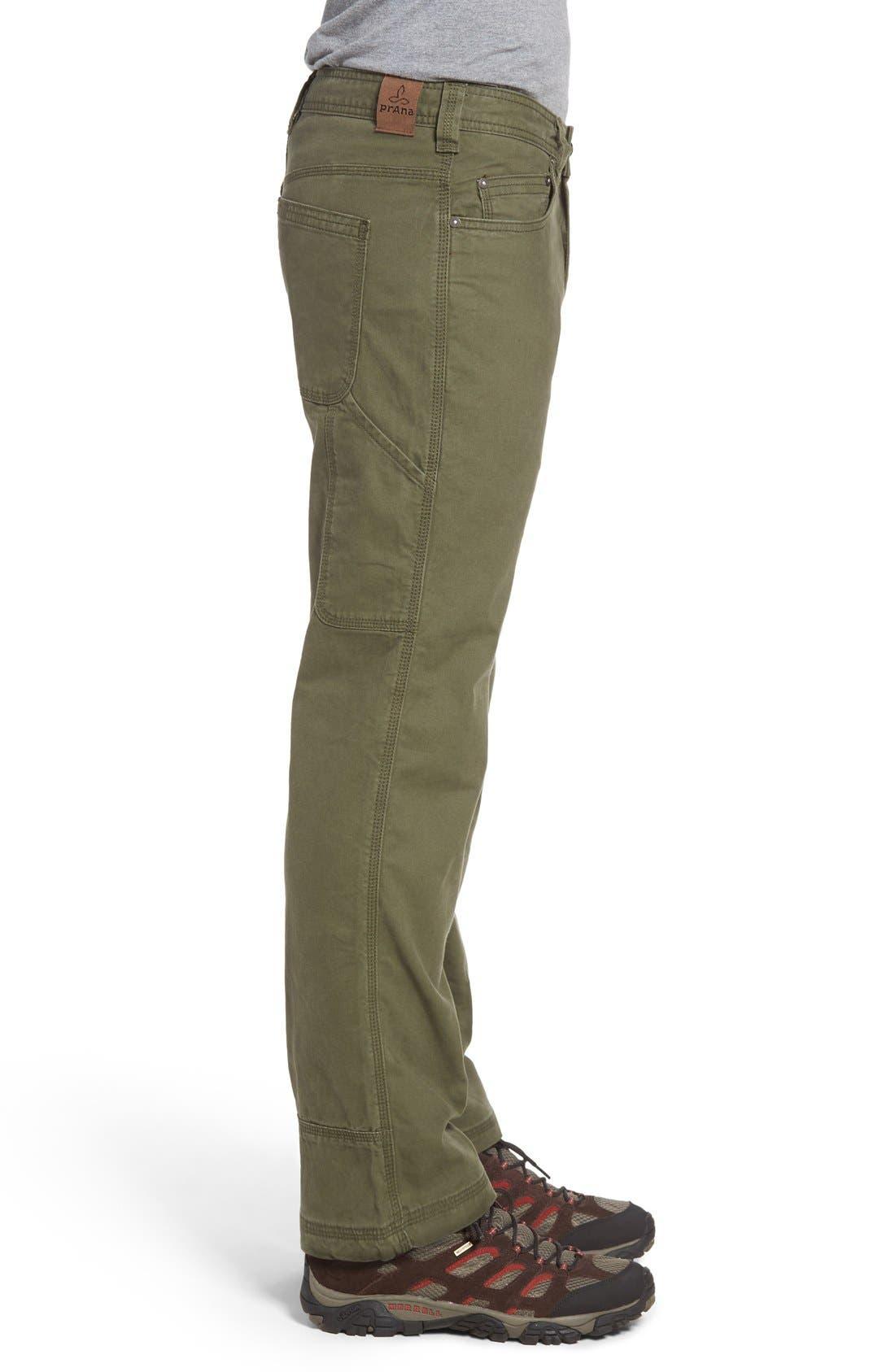 Bronson Pants,                             Alternate thumbnail 3, color,                             Cargo Green