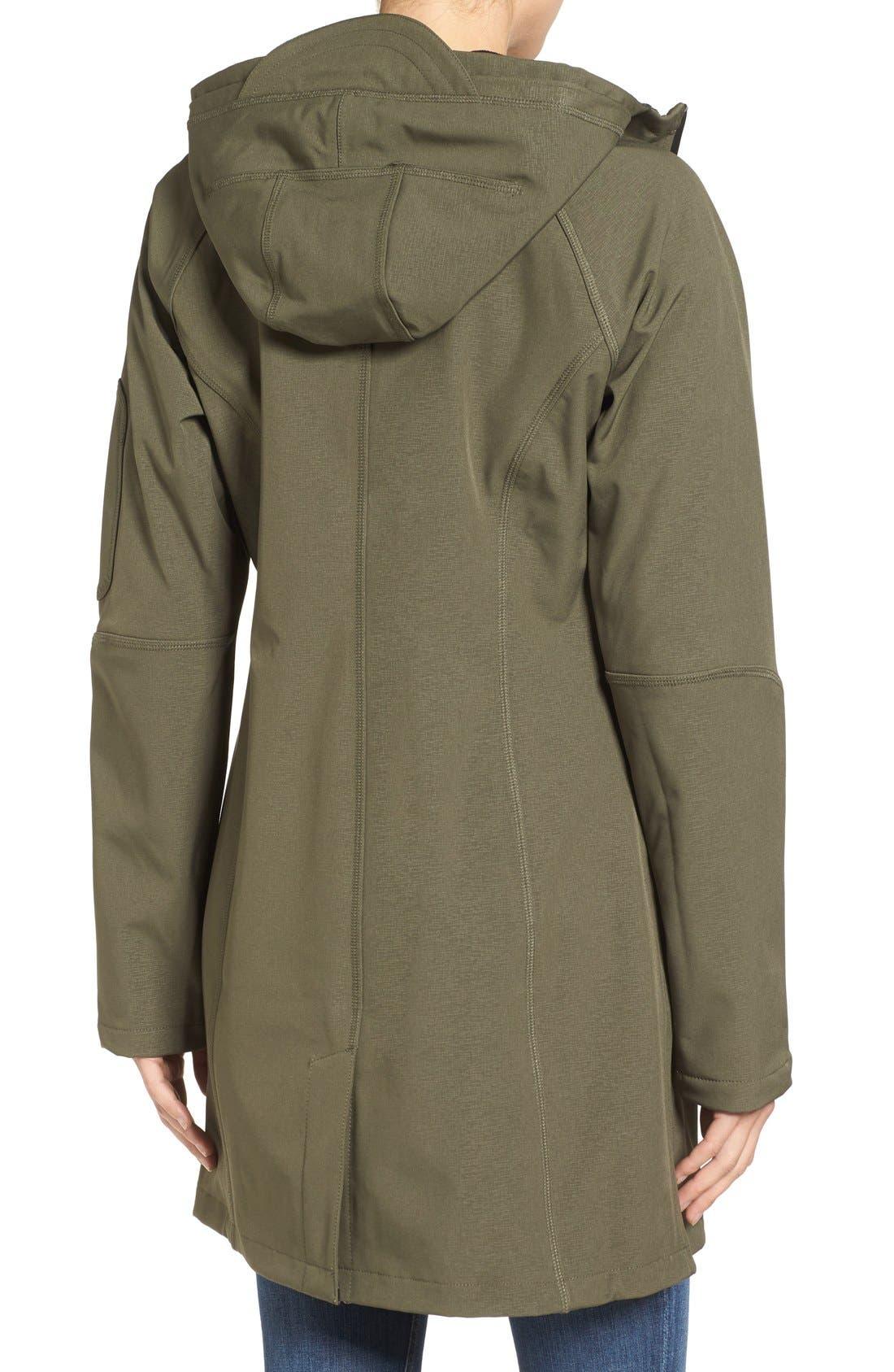 Alternate Image 2  - Ilse Jacobsen Regular Fit Hooded Raincoat