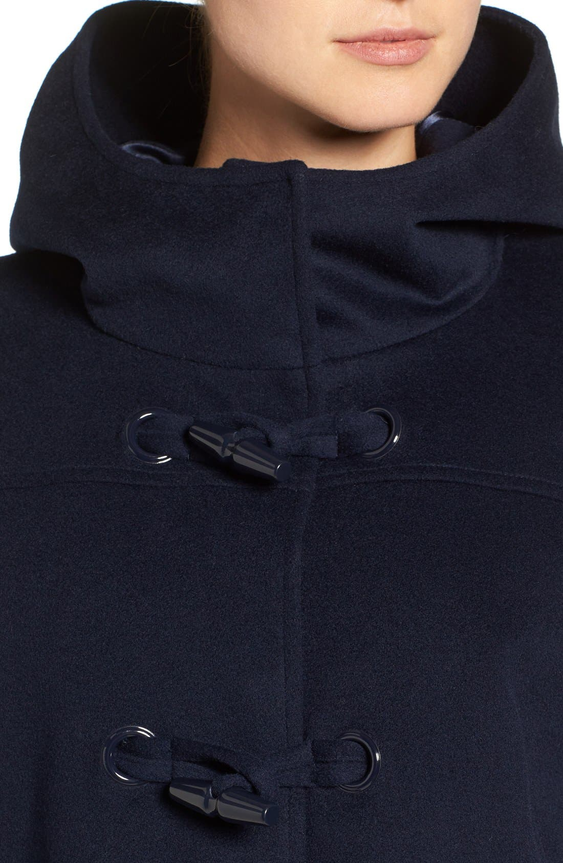 Alternate Image 4  - Pendleton Roslyn Waterproof Lambswool Blend Hooded Coat