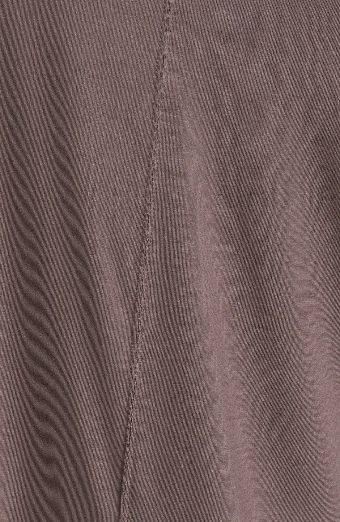 'Luna' Long Sleeve Tee,                             Alternate thumbnail 5, color,                             Taupe