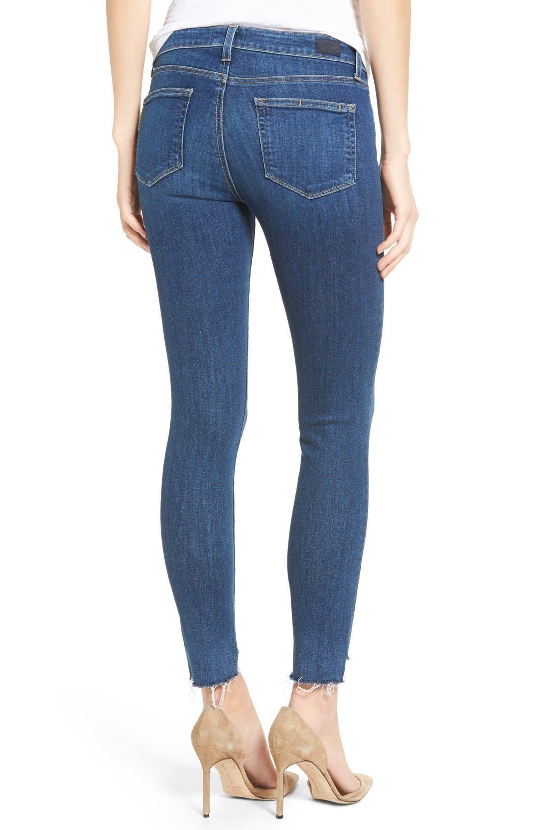 Legacy - Verdugo Step Hem Skinny Jeans,                             Alternate thumbnail 3, color,                             Lane