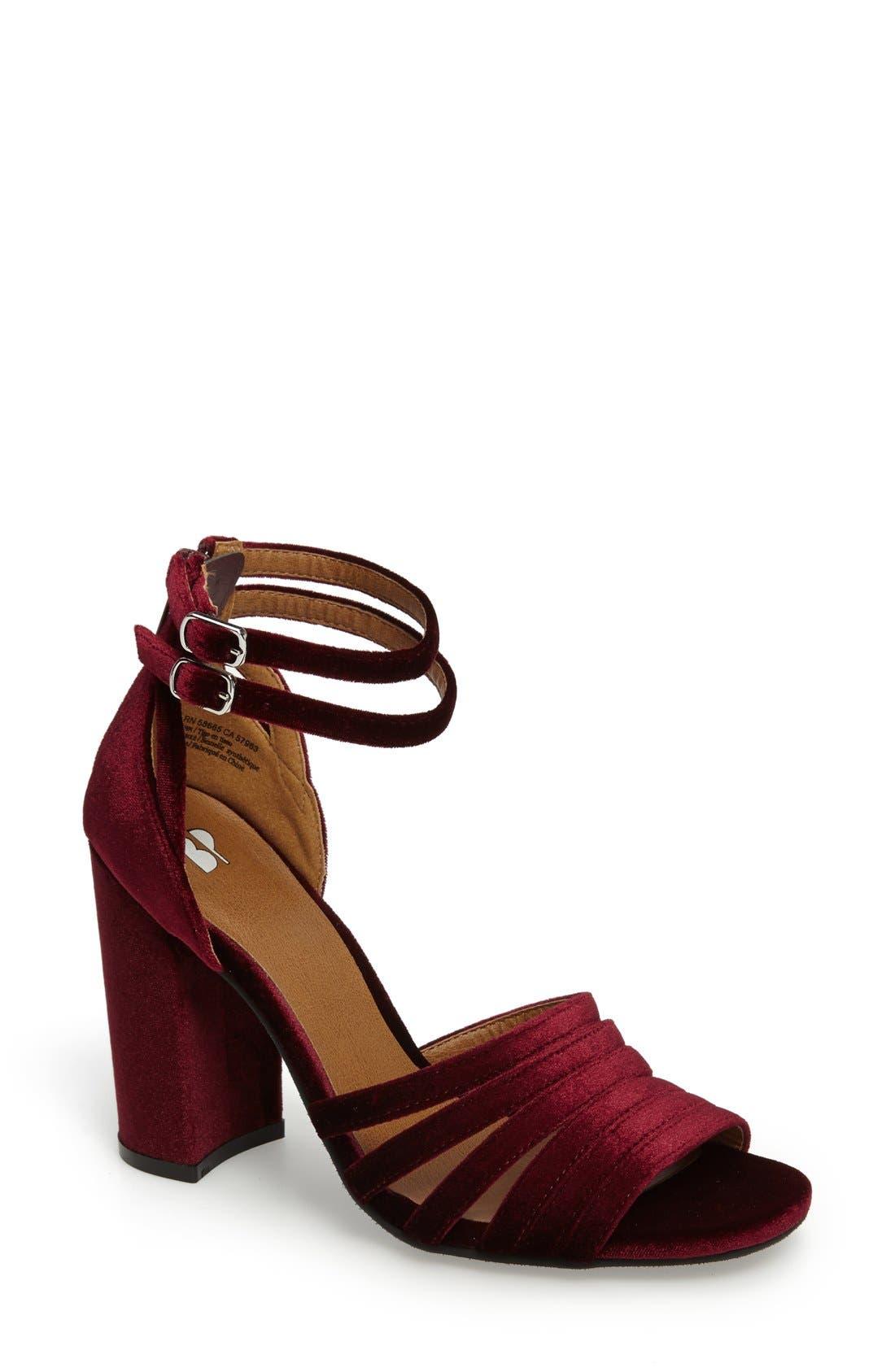 Alternate Image 1 Selected - BP. Gaby Ankle Strap Sandal (Women)