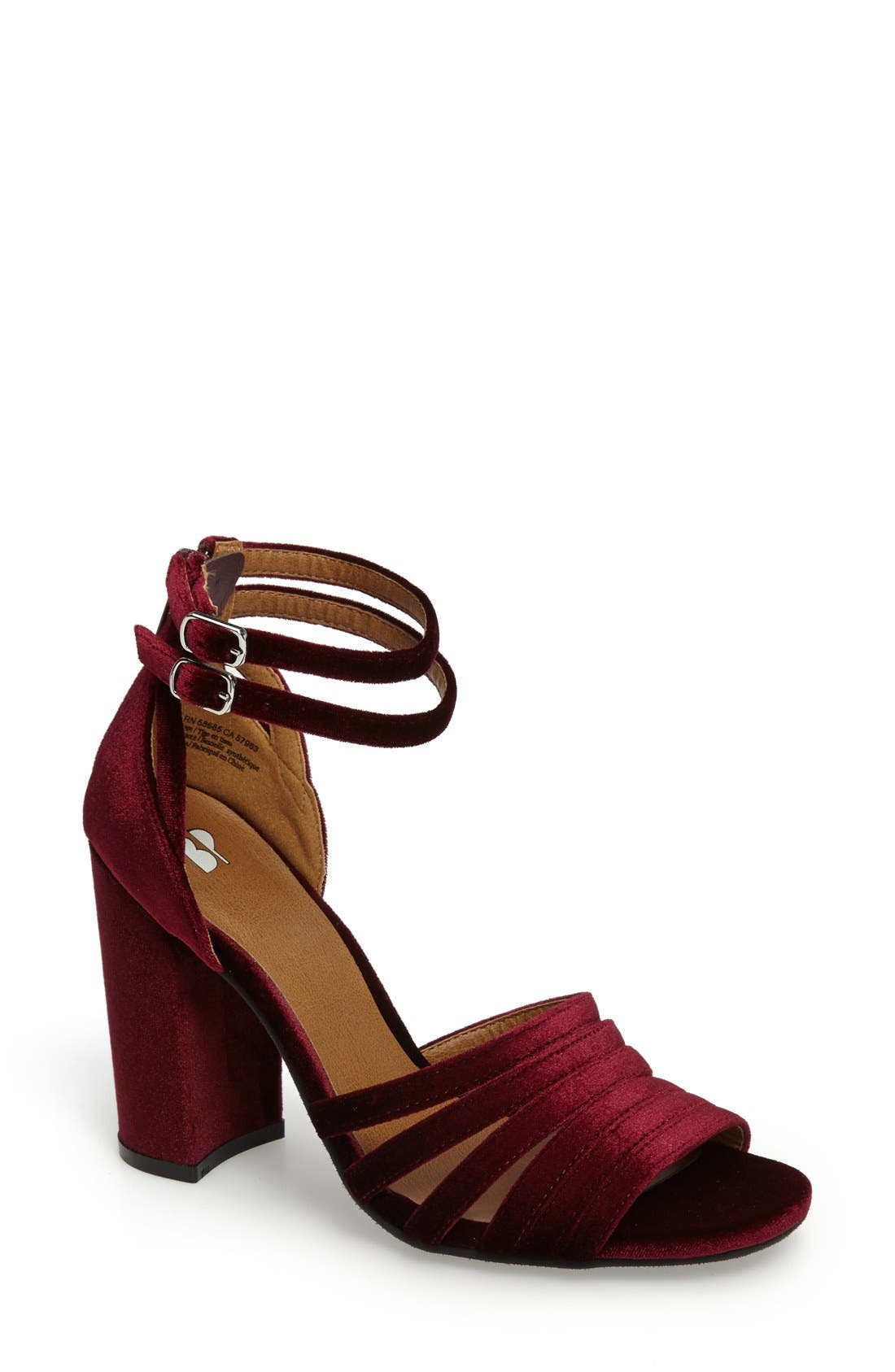 Main Image - BP. Gaby Ankle Strap Sandal (Women)