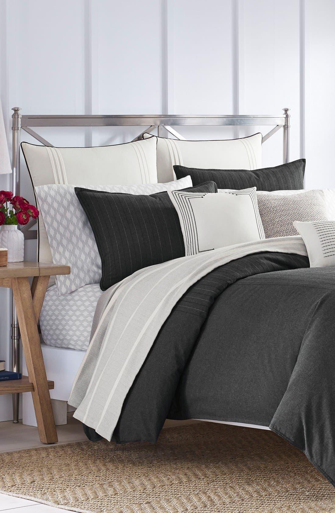 Caldwell Comforter & Sham Set,                         Main,                         color, Charcoal