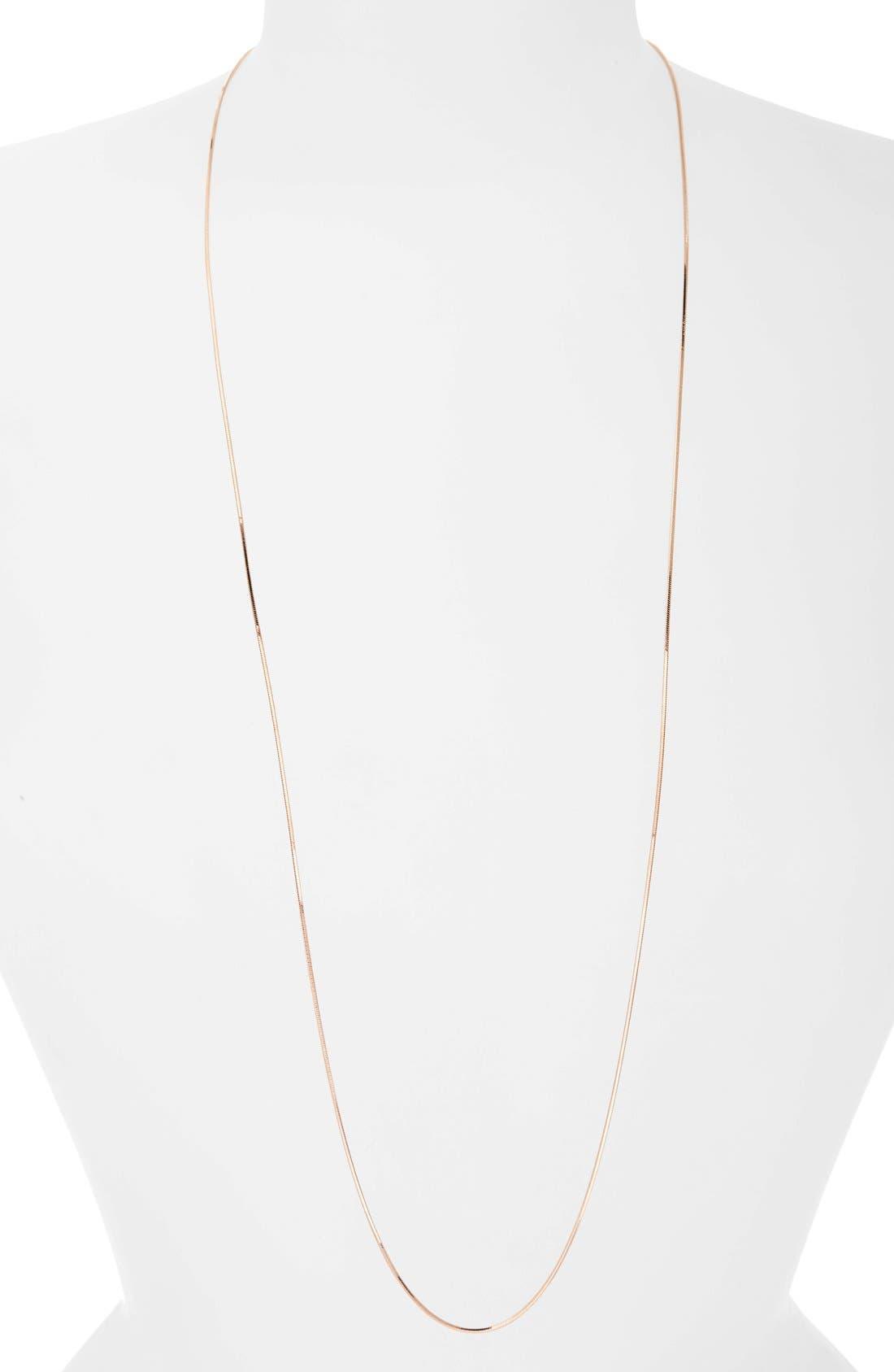 Main Image - Argento Vivo Chain Necklace