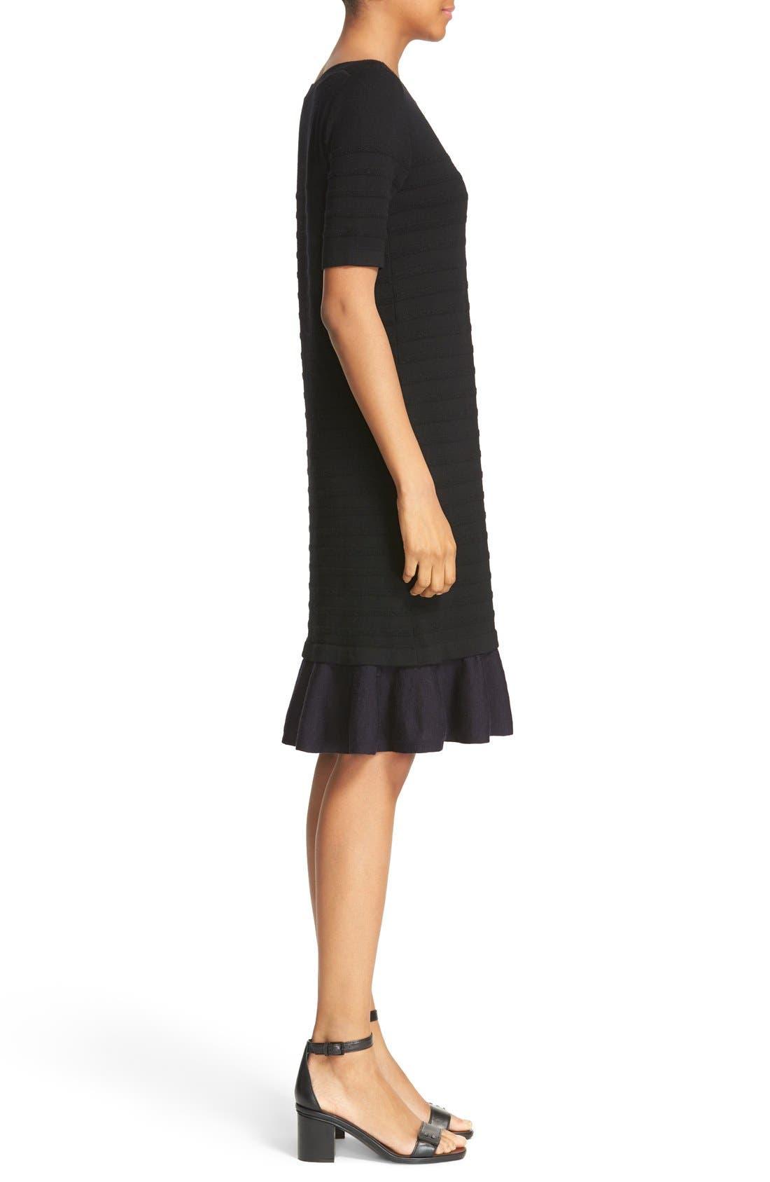 Alternate Image 3  - Tory Burch Giselle Textured Merino Wool Sweater Dress