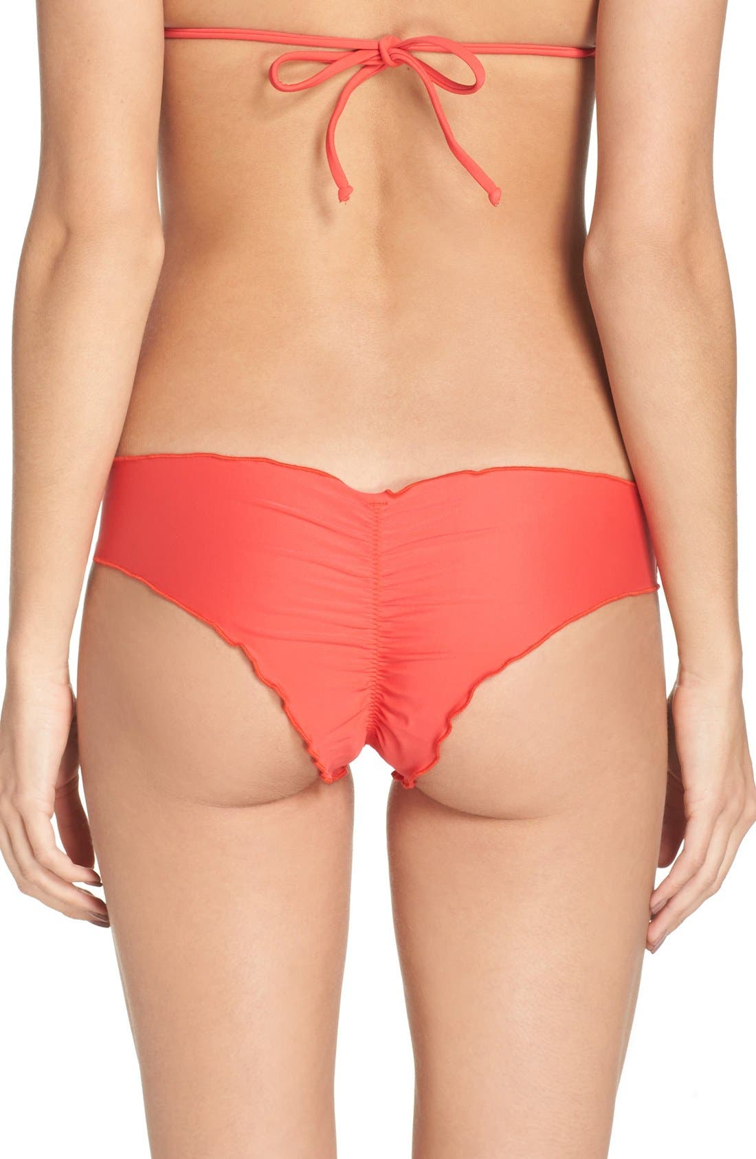Alternate Image 1 Selected - Luli Fama 'Wavy' Brazilian Bikini Bottoms