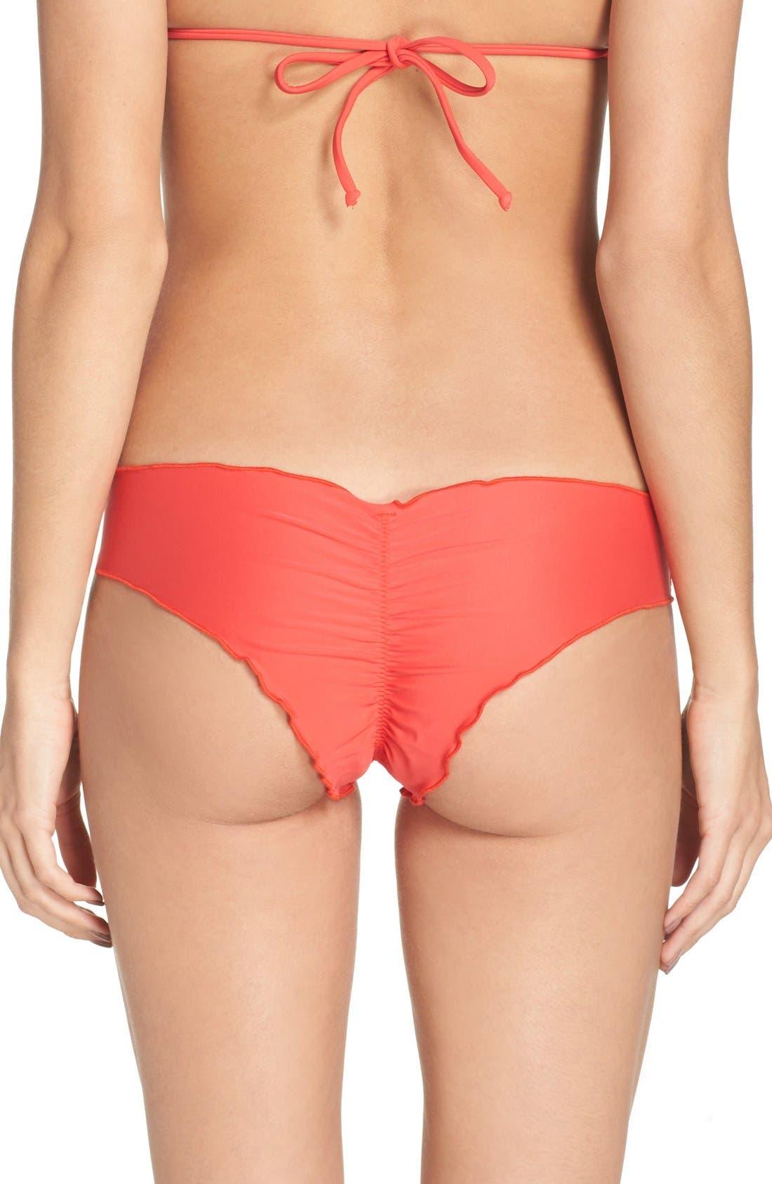Main Image - Luli Fama 'Wavy' Brazilian Bikini Bottoms