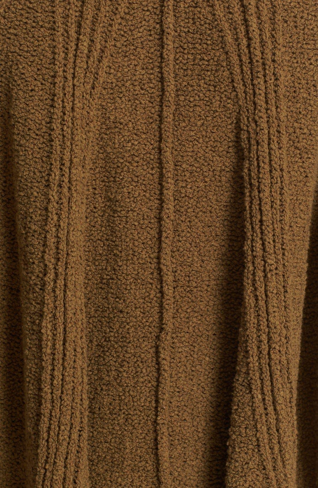 Alternate Image 5  - Free People Spin Around Poncho Sweater