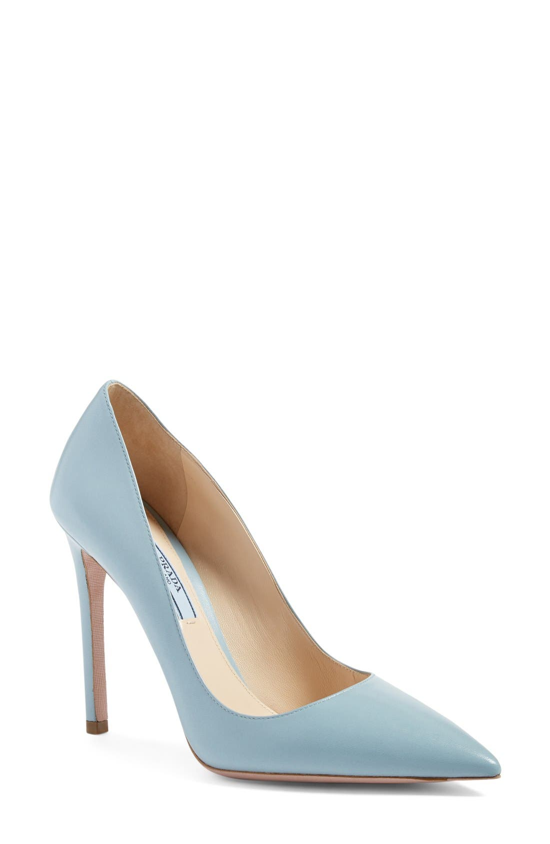 Main Image - Prada Pointy Toe Pump (Women)