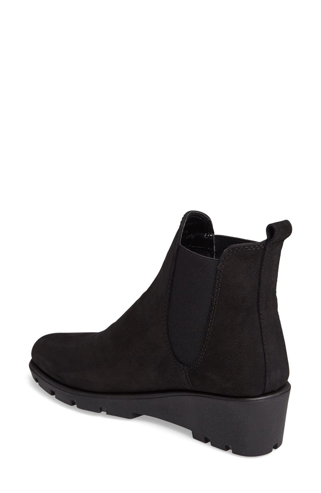 Alternate Image 2  - The FLEXX Slimmer Chelsea Wedge Boot (Women)