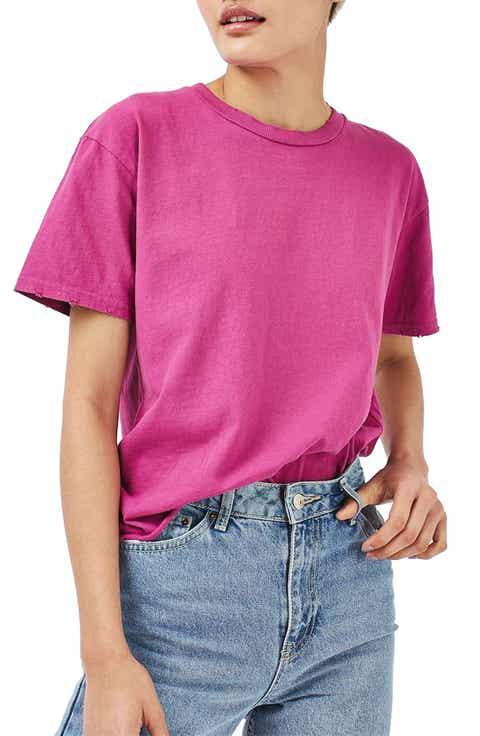 Women's Pink Tops & Tees | Nordstrom