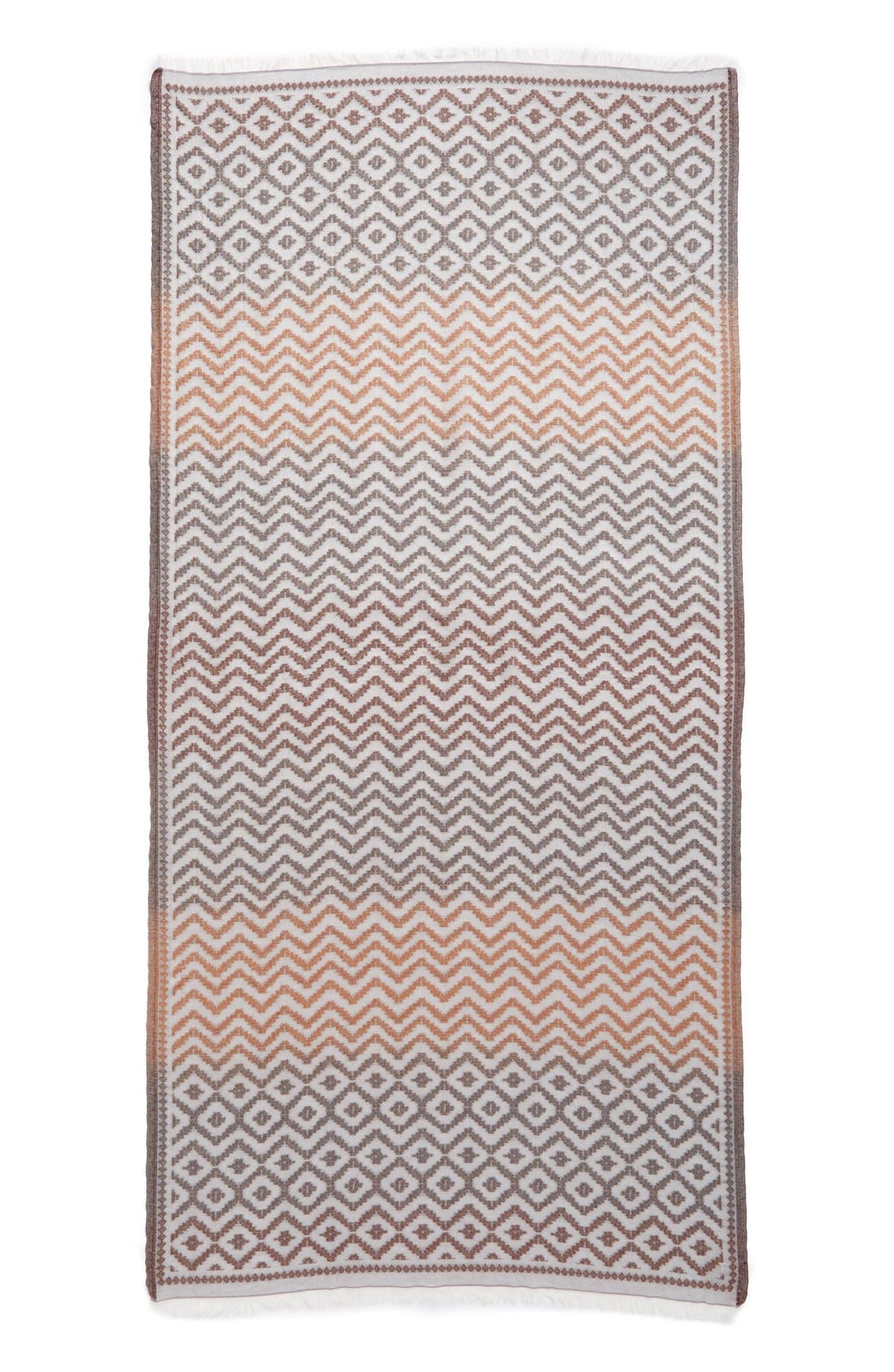 Alternate Image 2  - Echo Zigzag Jacquard Wrap