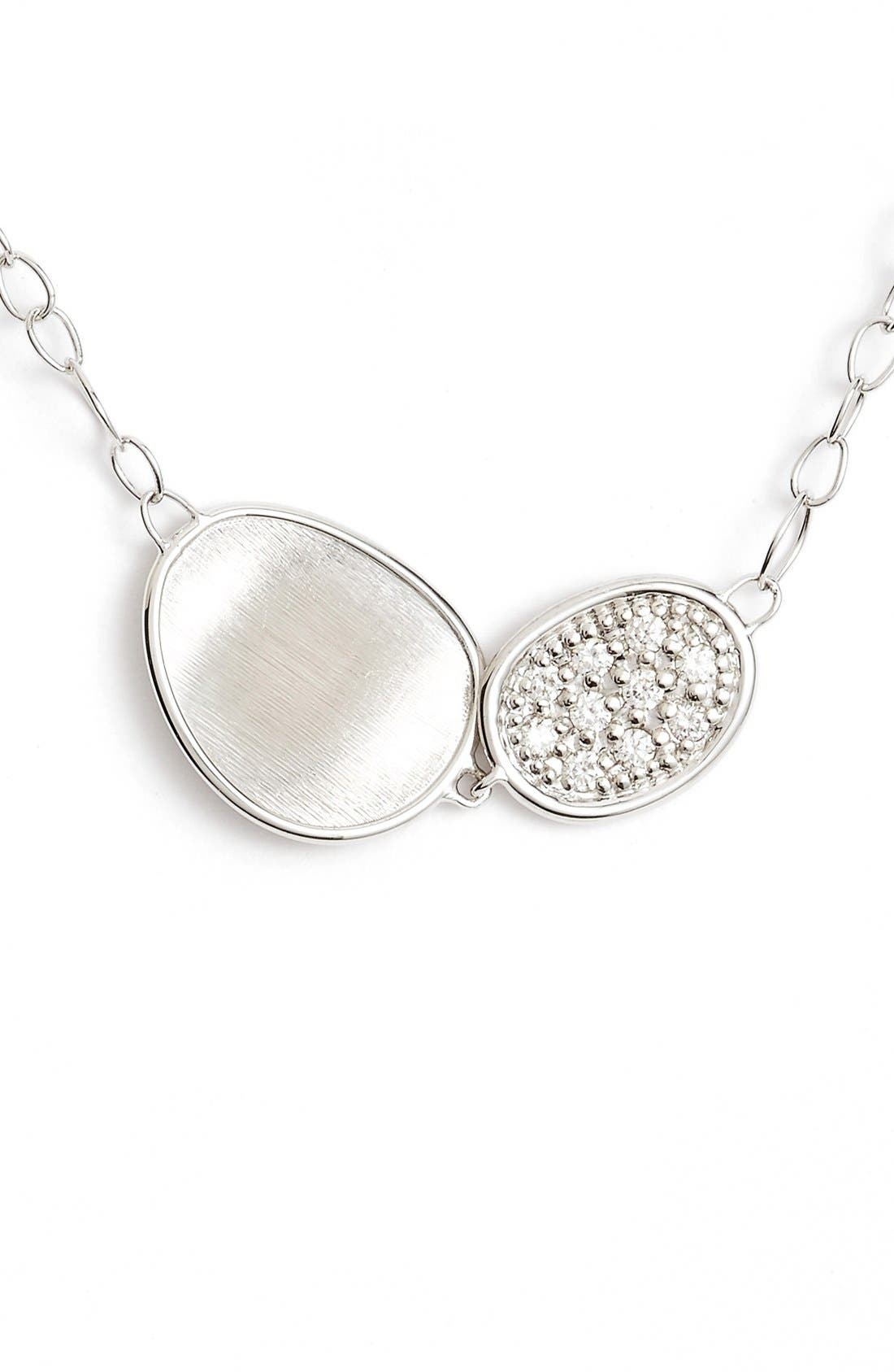 Alternate Image 1 Selected - Marco Bicego Lunaria Pendant Necklace