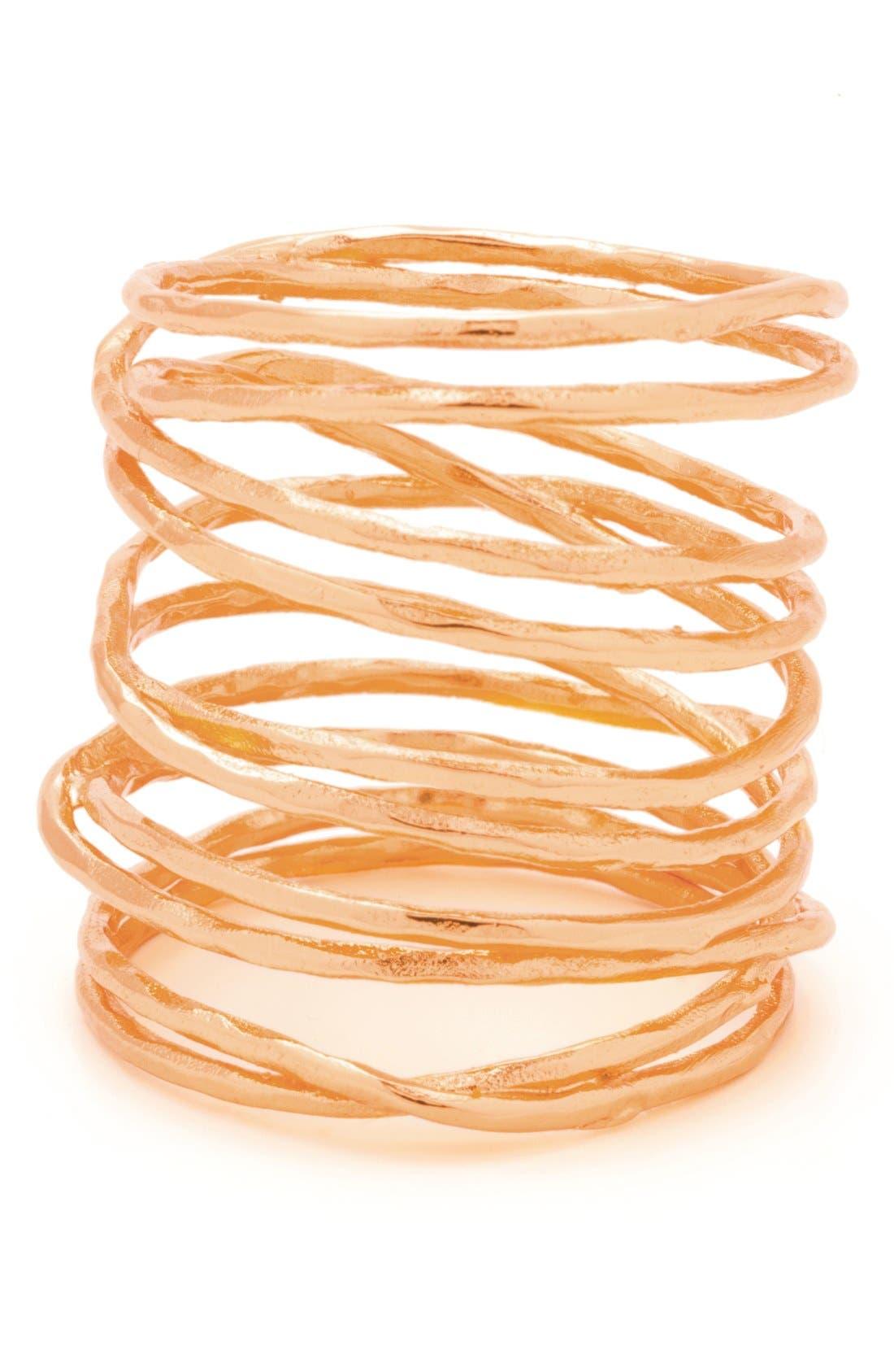 Main Image - gorjana 'Lola' Coil Ring