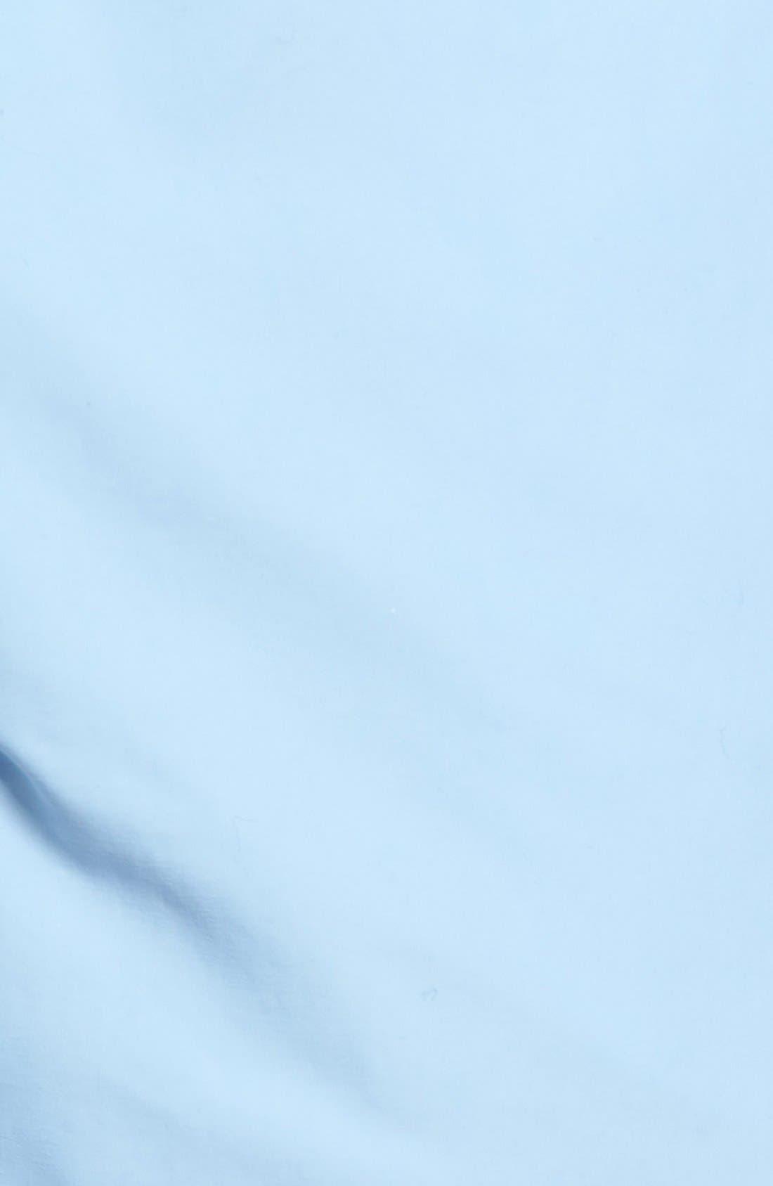 Coral Water Reactive Swim Trunks,                             Alternate thumbnail 5, color,                             Sky Blue