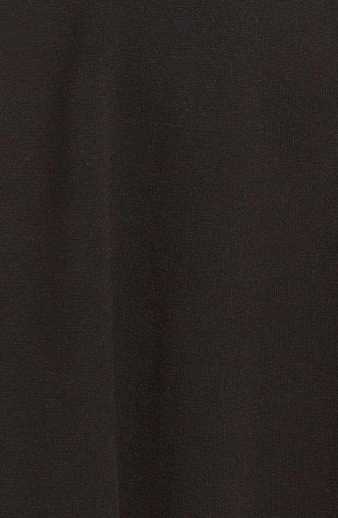 Alternate Image 6  - Eliza J Stripe Fit & Flare Dress (Regular & Petite)