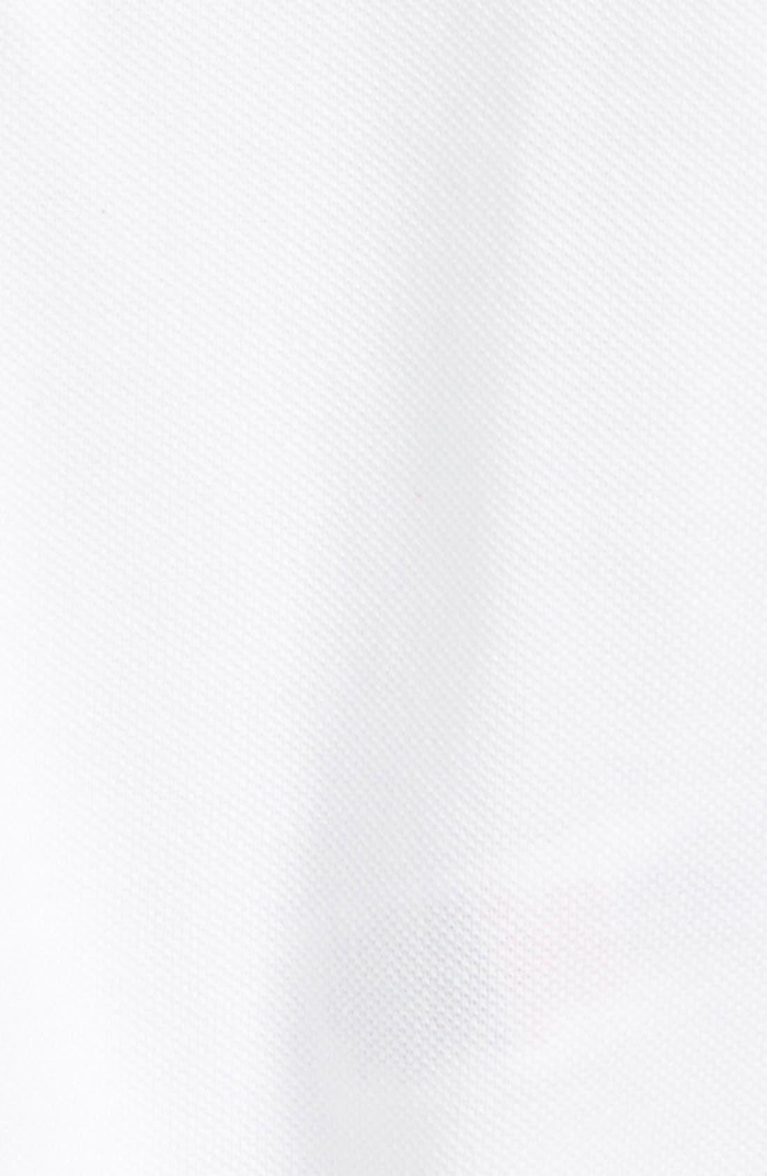 William Cotton Polo,                             Alternate thumbnail 2, color,                             White