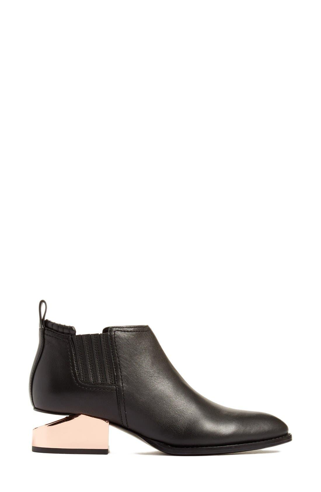 Kori Chelsea Boot,                             Alternate thumbnail 4, color,                             Black
