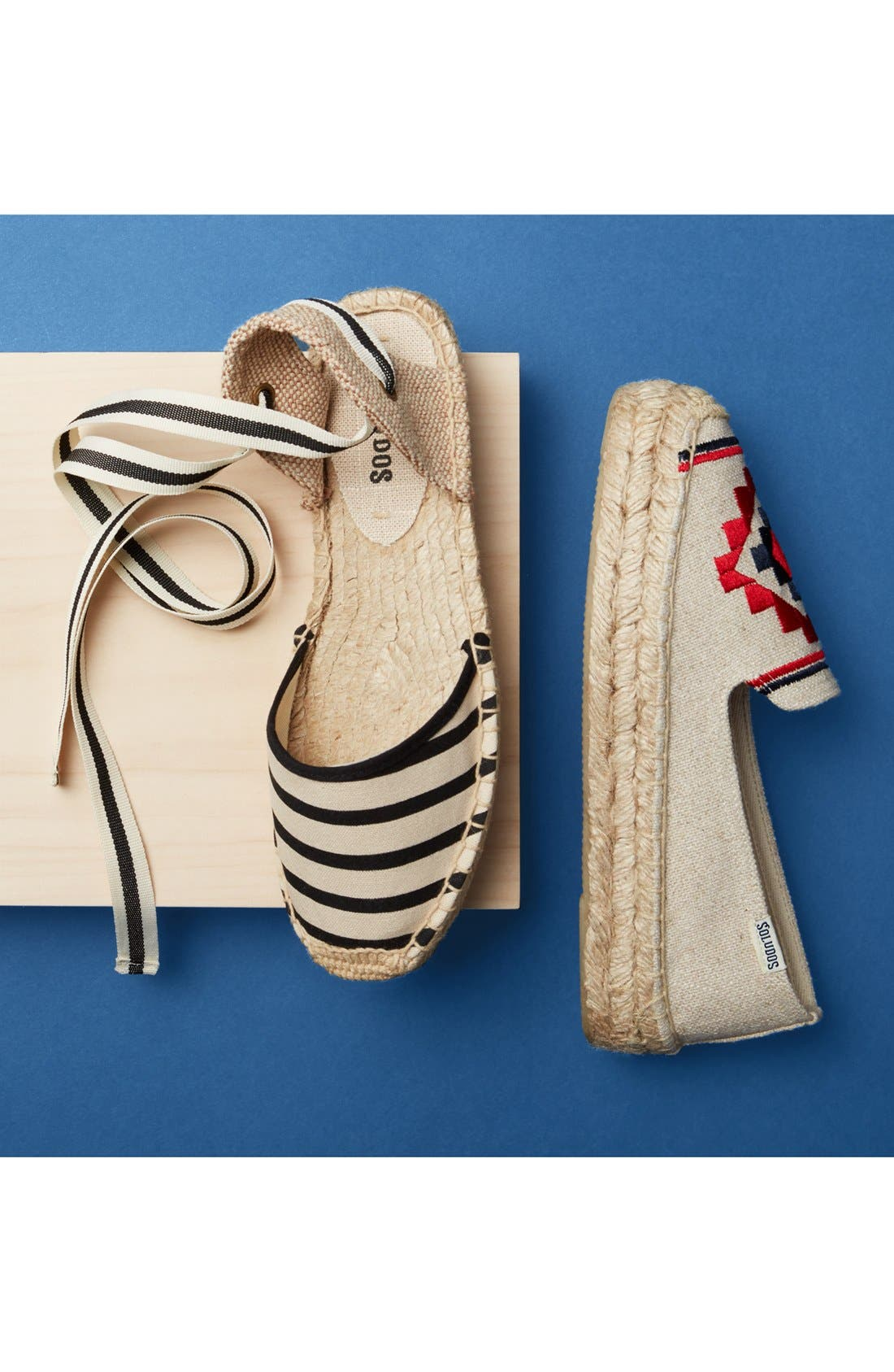 Embroidered Espadrille,                             Alternate thumbnail 5, color,