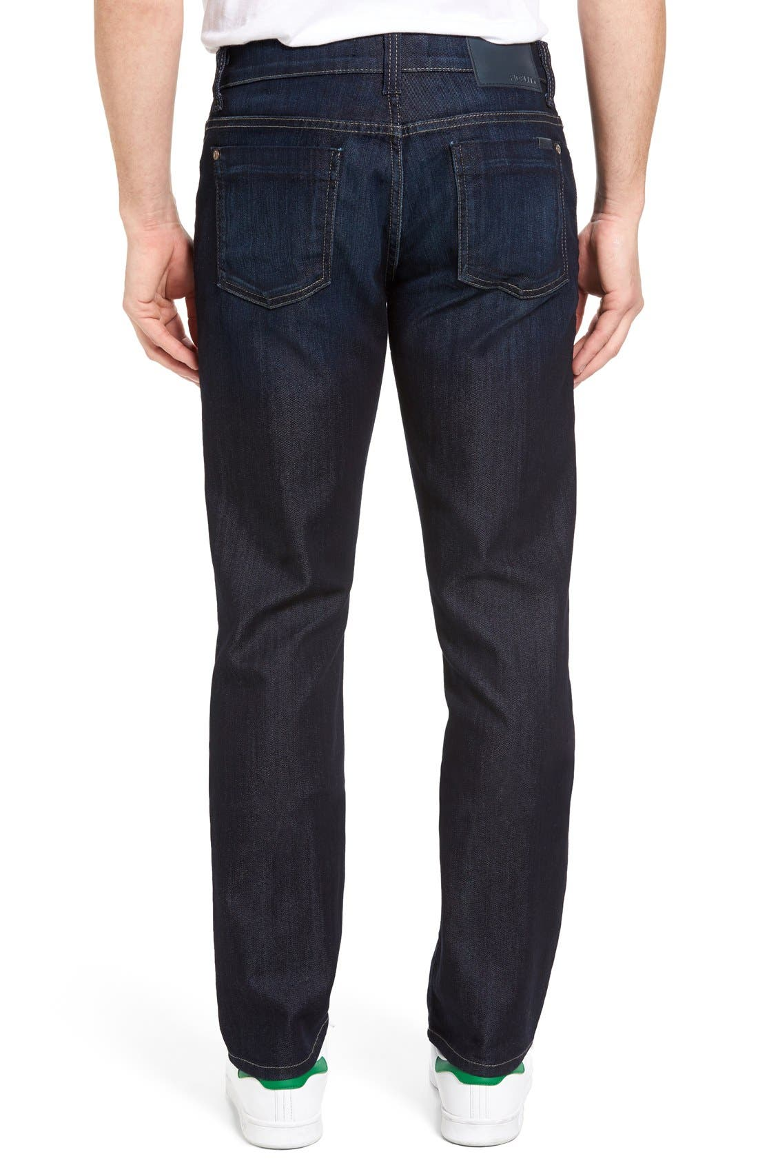 Impala Straight Leg Jeans,                             Alternate thumbnail 2, color,                             Lunar Blue