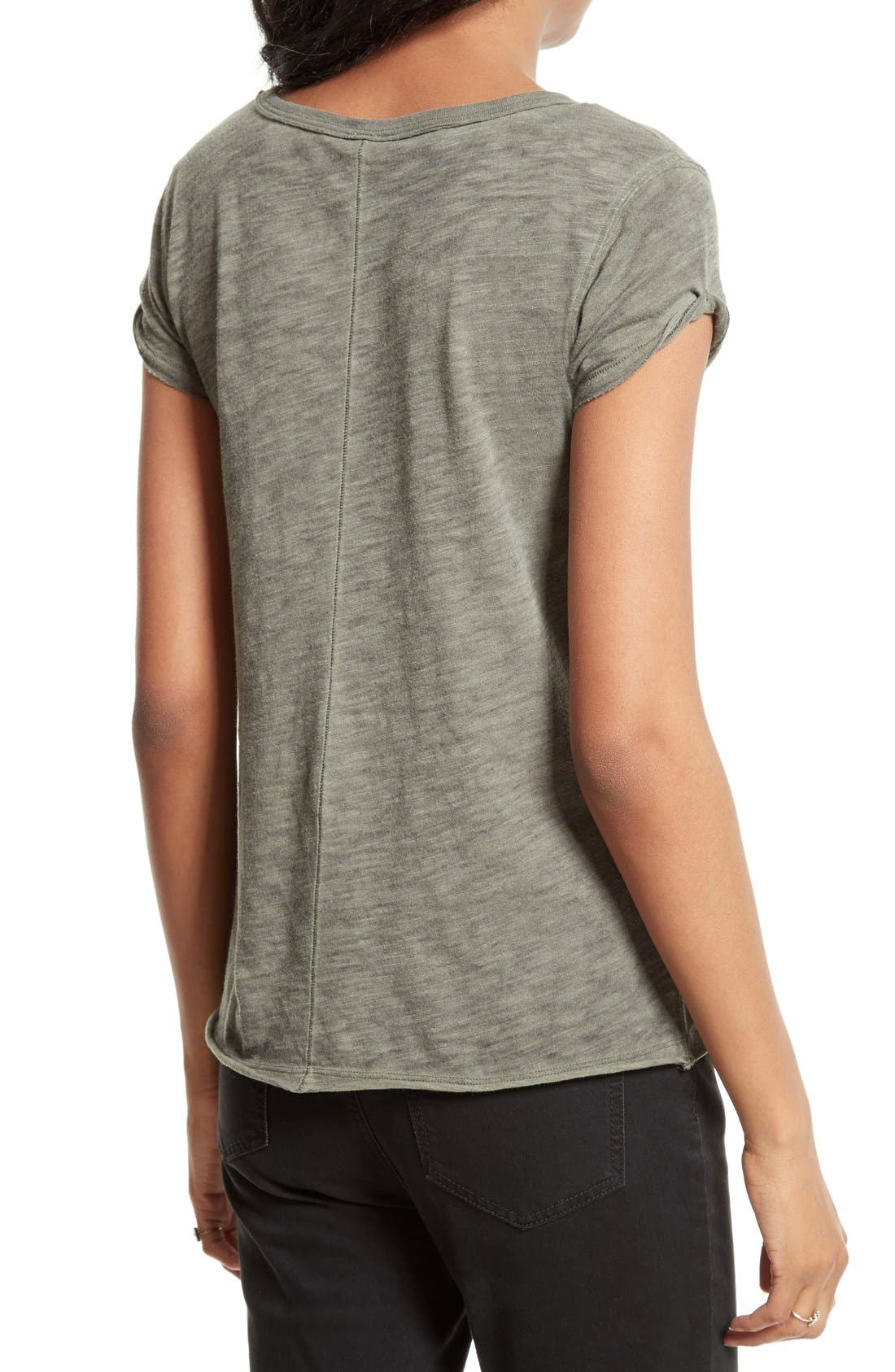 We the Free by Free People Tee,                             Alternate thumbnail 2, color,                             Green