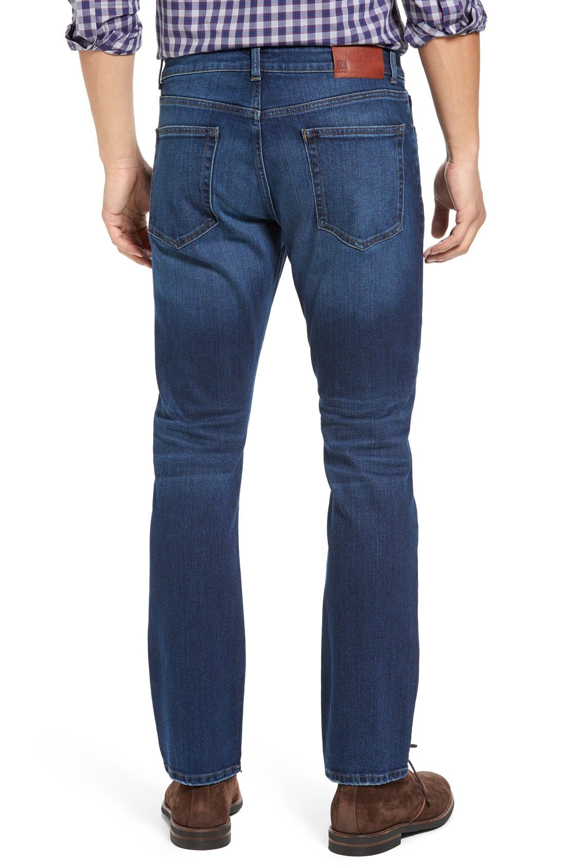 Alternate Image 2  - DL1961 Russel Slim Straight Fit Jeans (Acre)