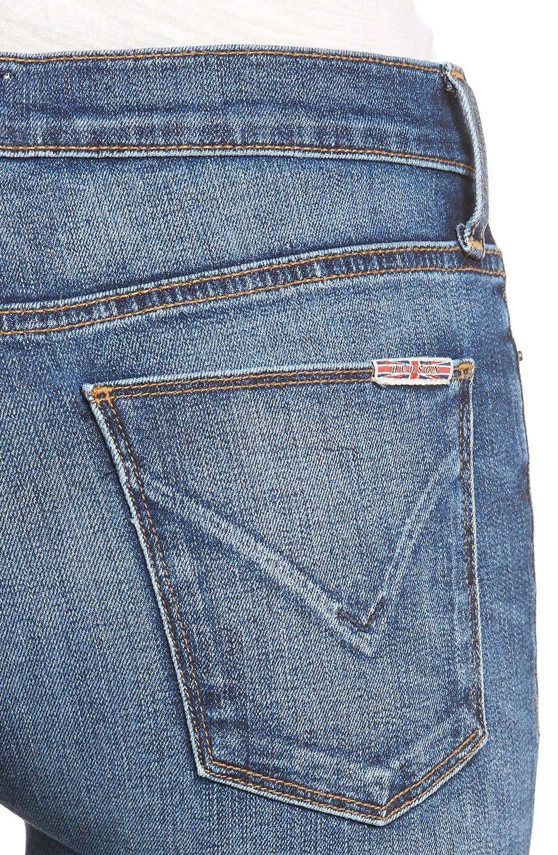 Nico Super Skinny Jeans,                             Alternate thumbnail 4, color,                             Legion