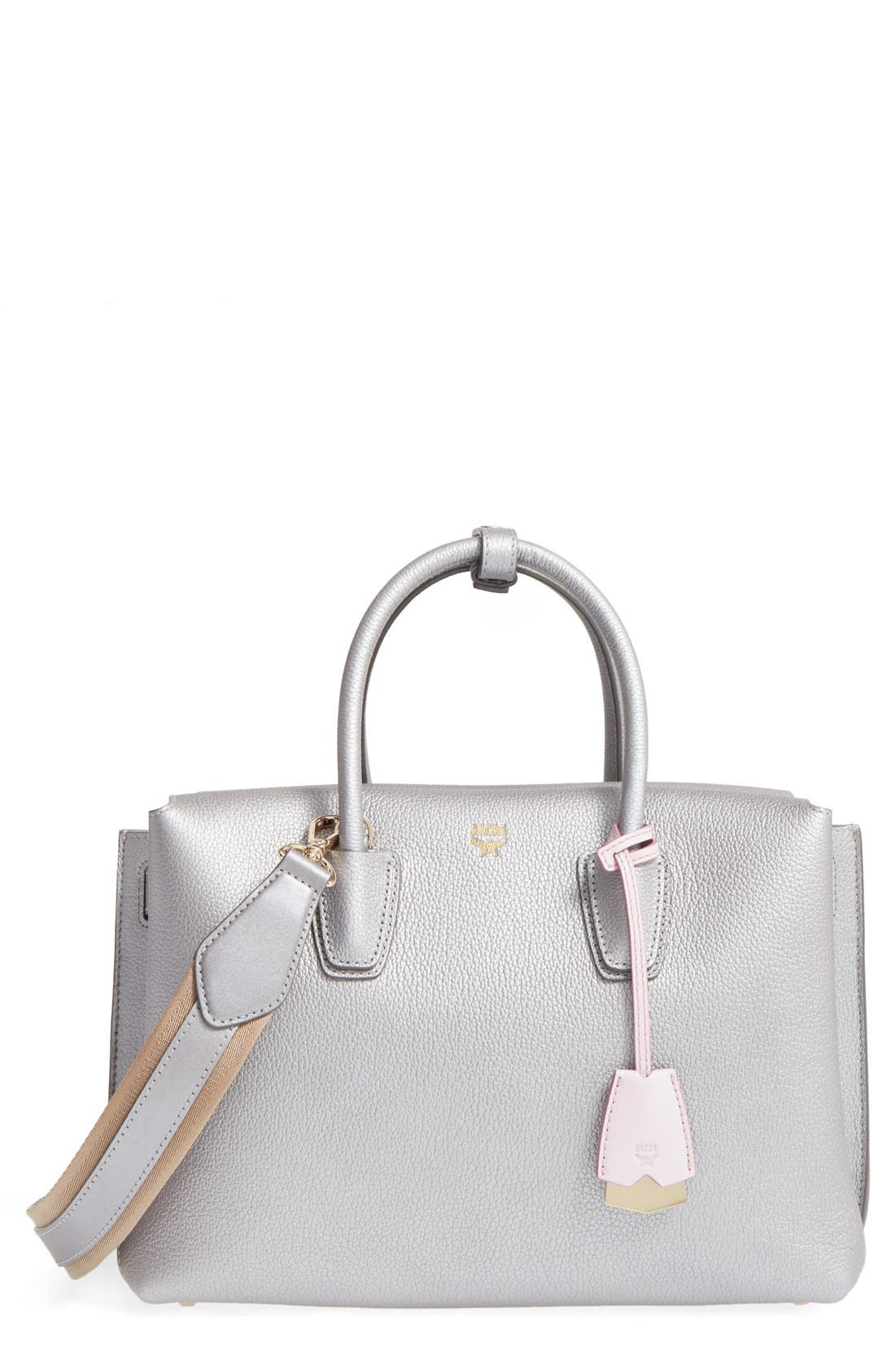 Alternate Image 1 Selected - MCM Medium Milla Leather Tote