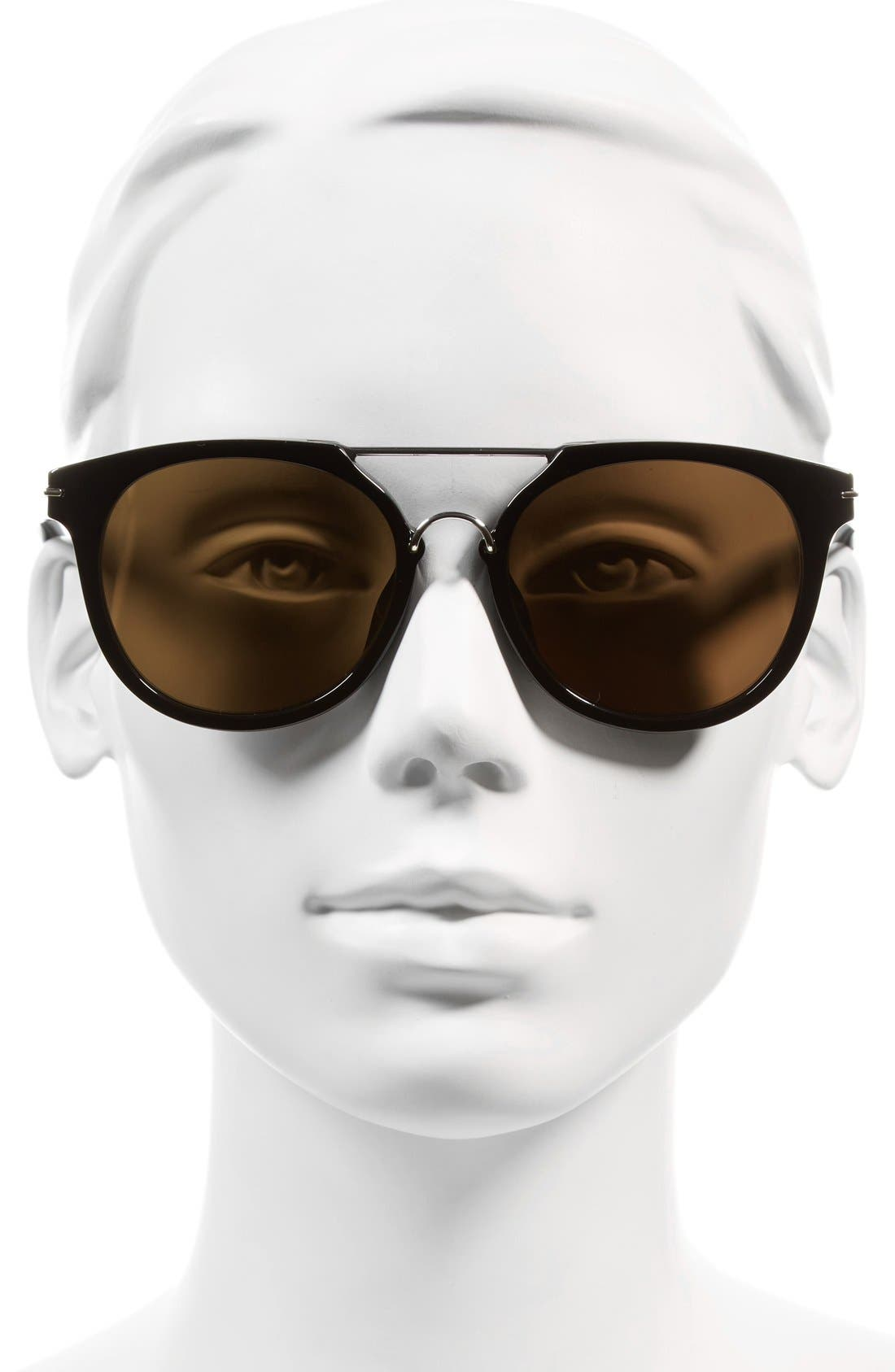 Alternate Image 2  - Givenchy 7034/S 54mm Round Sunglasses