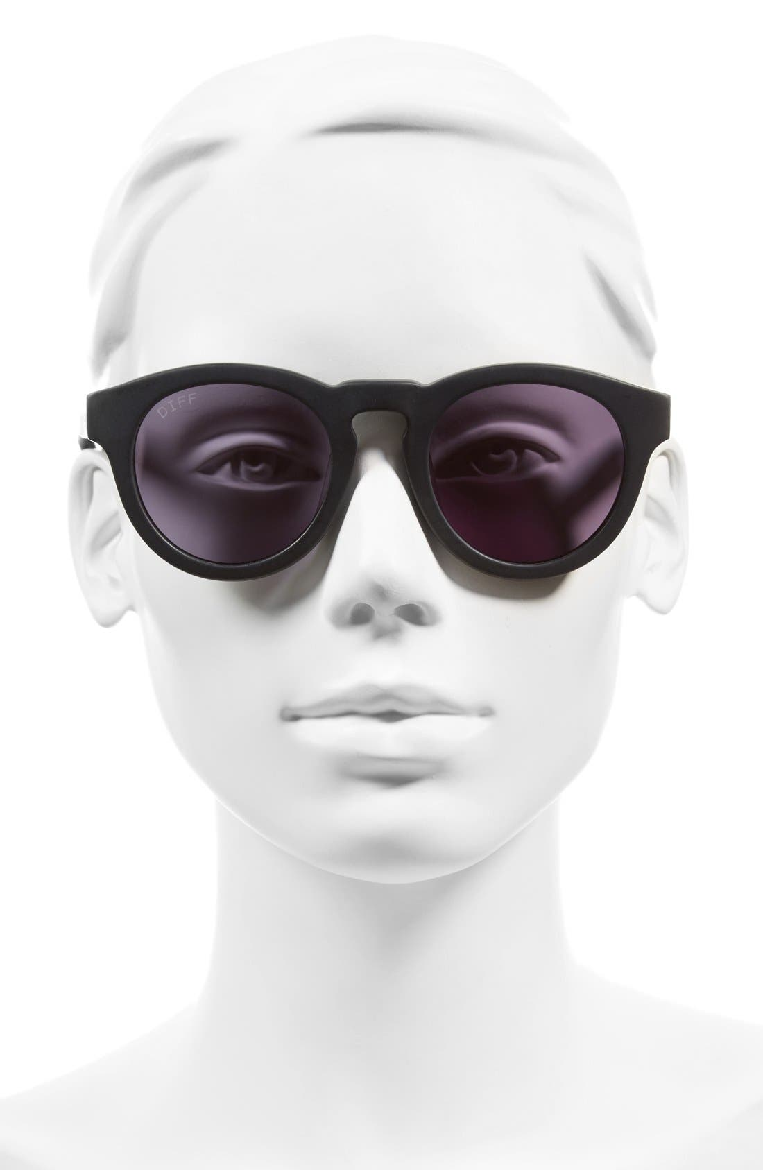 Alternate Image 2  - DIFF Dime II 48mm Retro Sunglasses