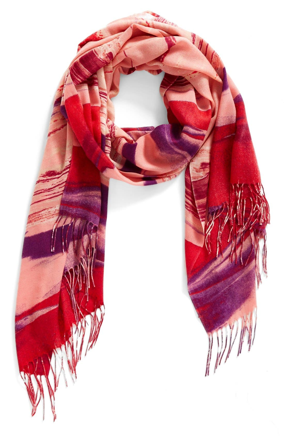 Nordstrom Painted Dream Wool & Cashmere Scarf