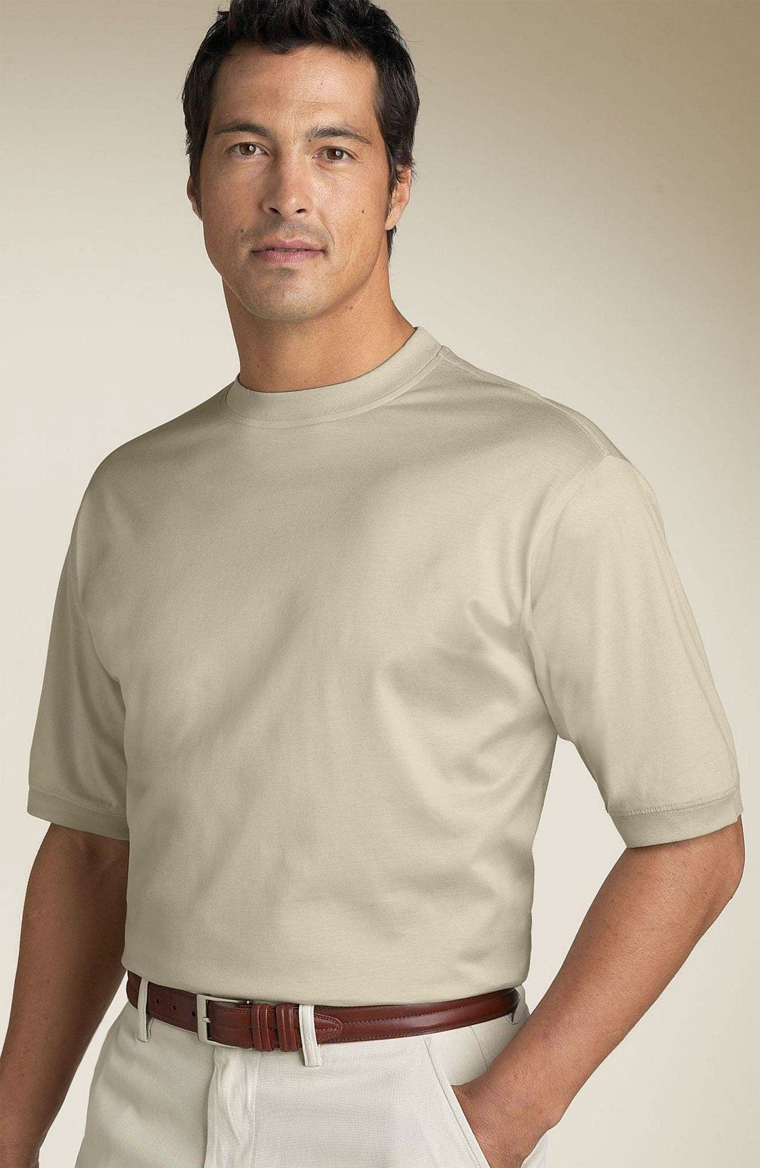Alternate Image 1 Selected - Tricots St. Raphael® Mercerized Cotton T-Shirt