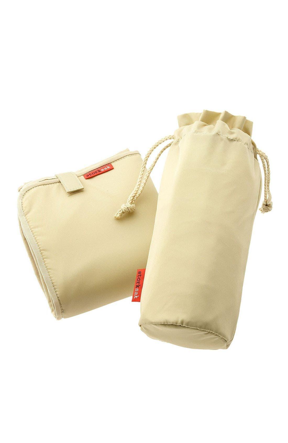 Alternate Image 4  - Storksak 'Gigi' Diaper Bag